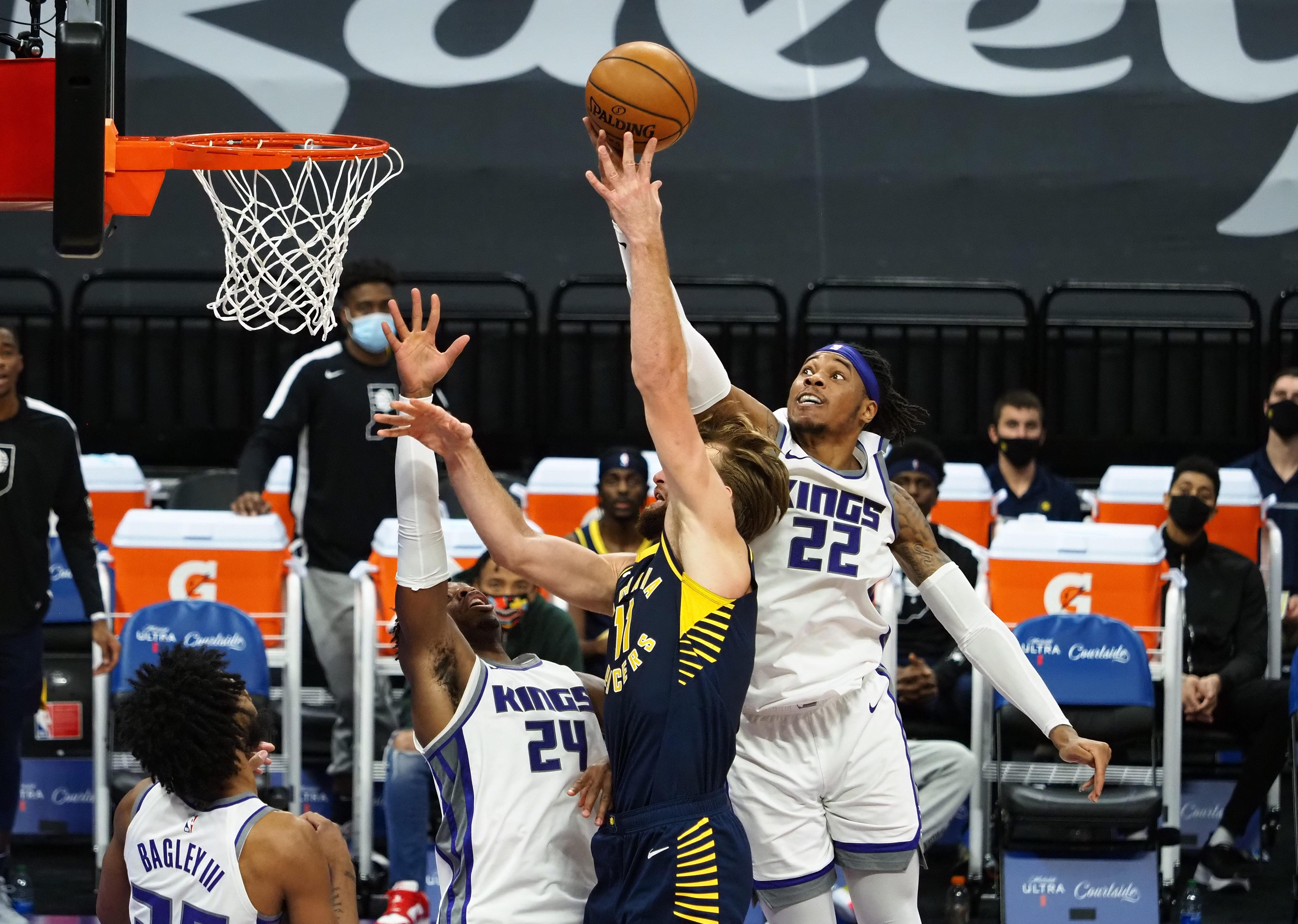 NBA: Indiana Pacers at Sacramento Kings