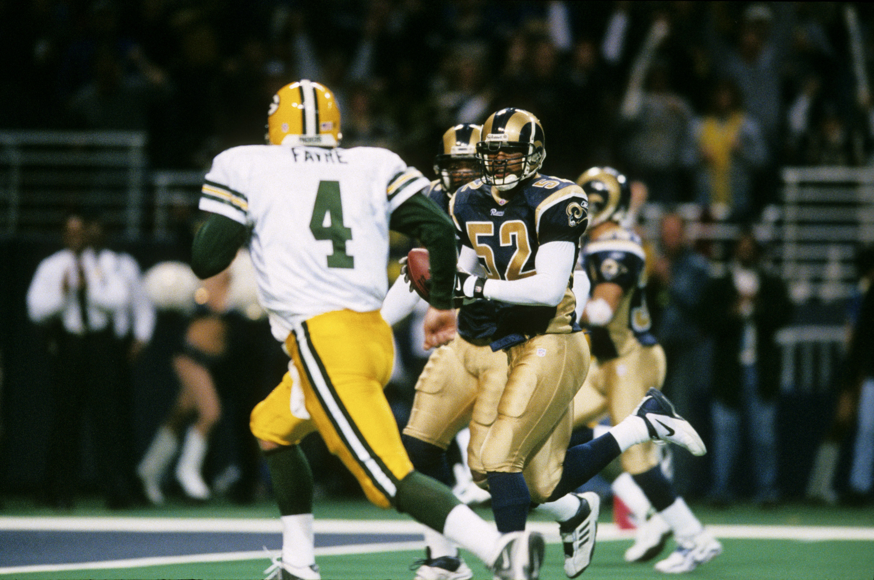 2001 NFC Divisional Playoff Game - Green Bay Packers vs St. Louis Rams - January 20, 2002