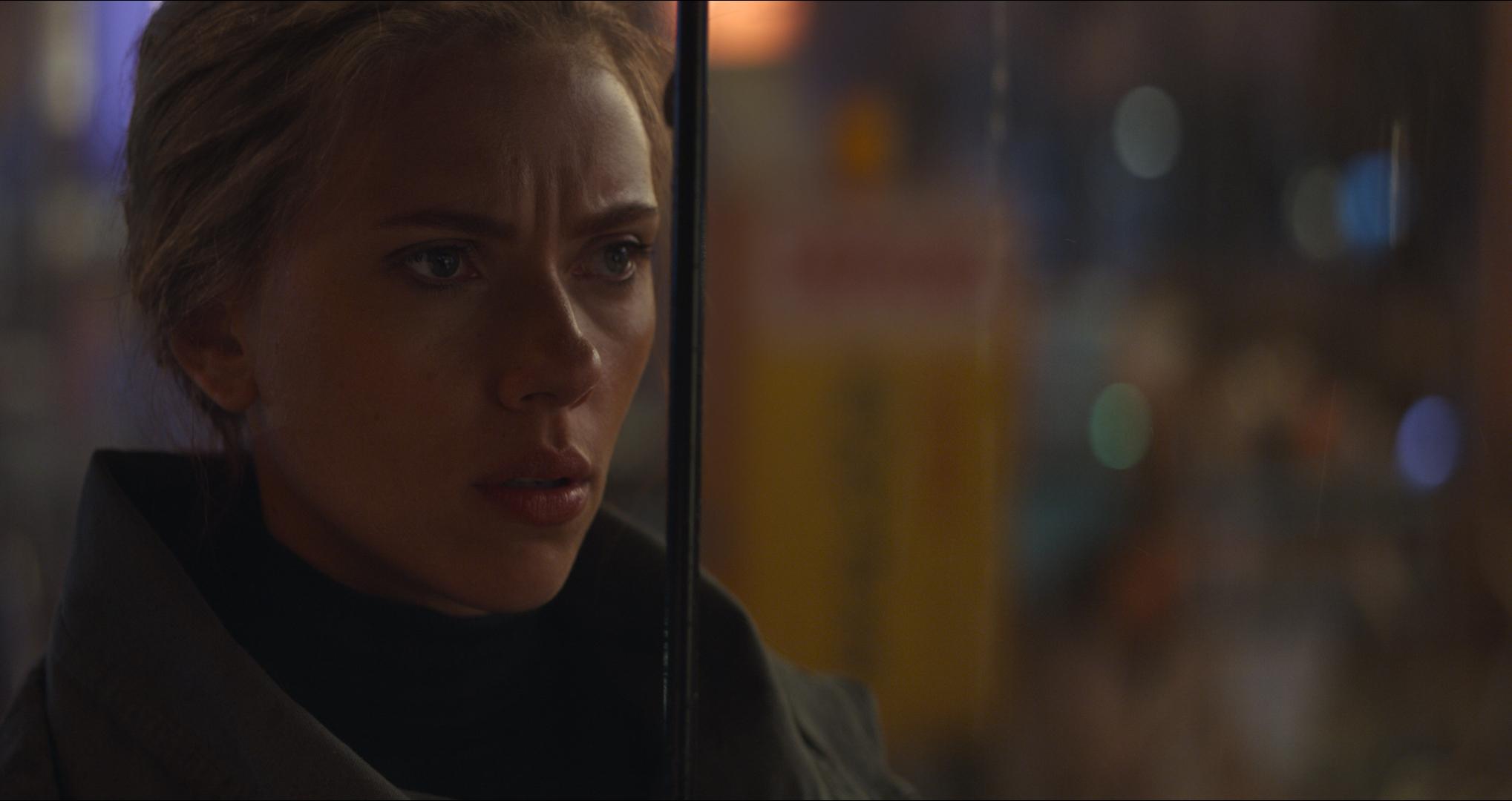 "Black Widow/Natasha Romanoff (Scarlett Johansson) appears in ""Avengers: Endgame."""