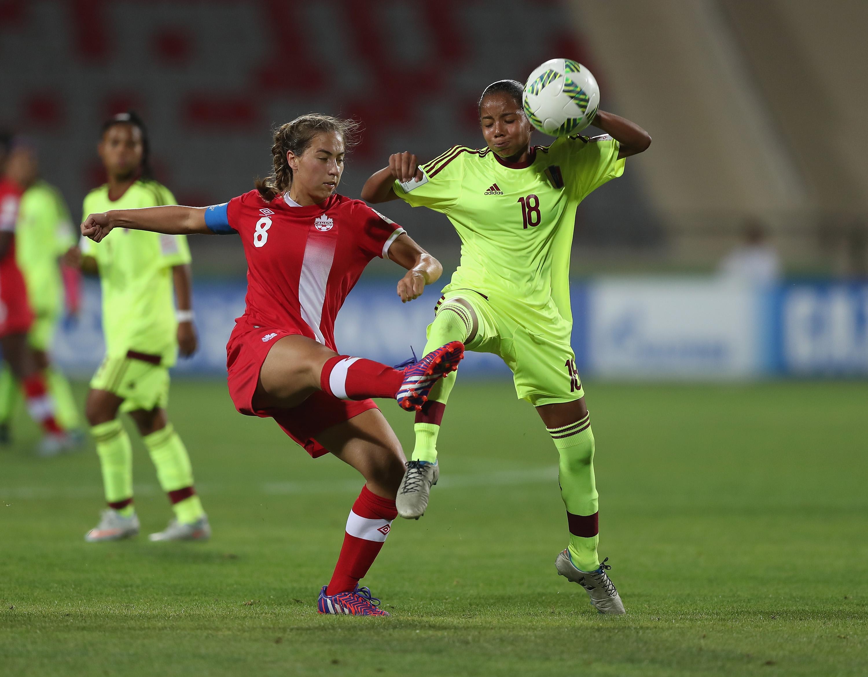 Canada v Venezuela: Group B - FIFA U-17 Women's World Cup Jordan 2016
