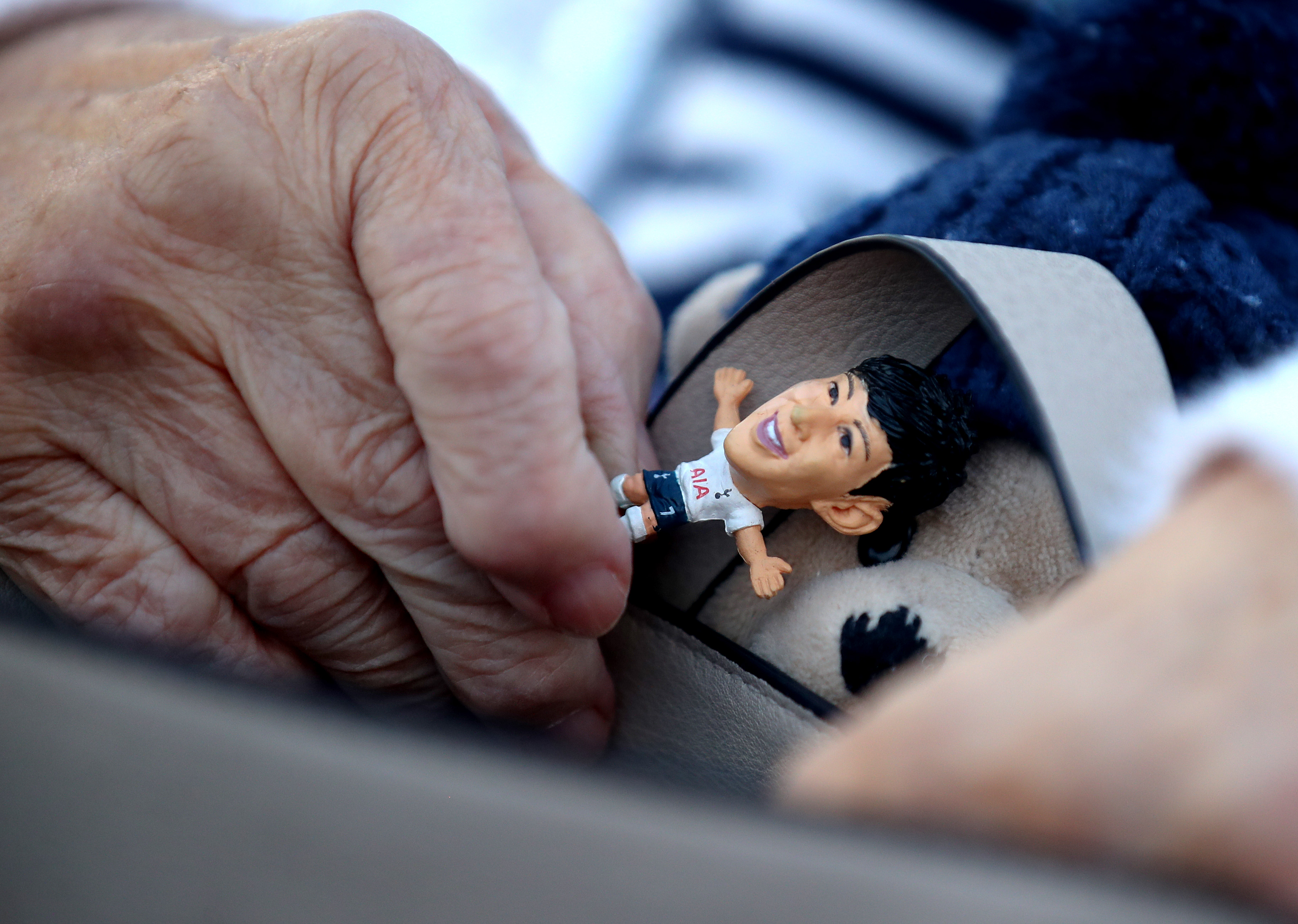 Miniature figure of Hueng Min Son - Tottenham Hotspur - Premier League
