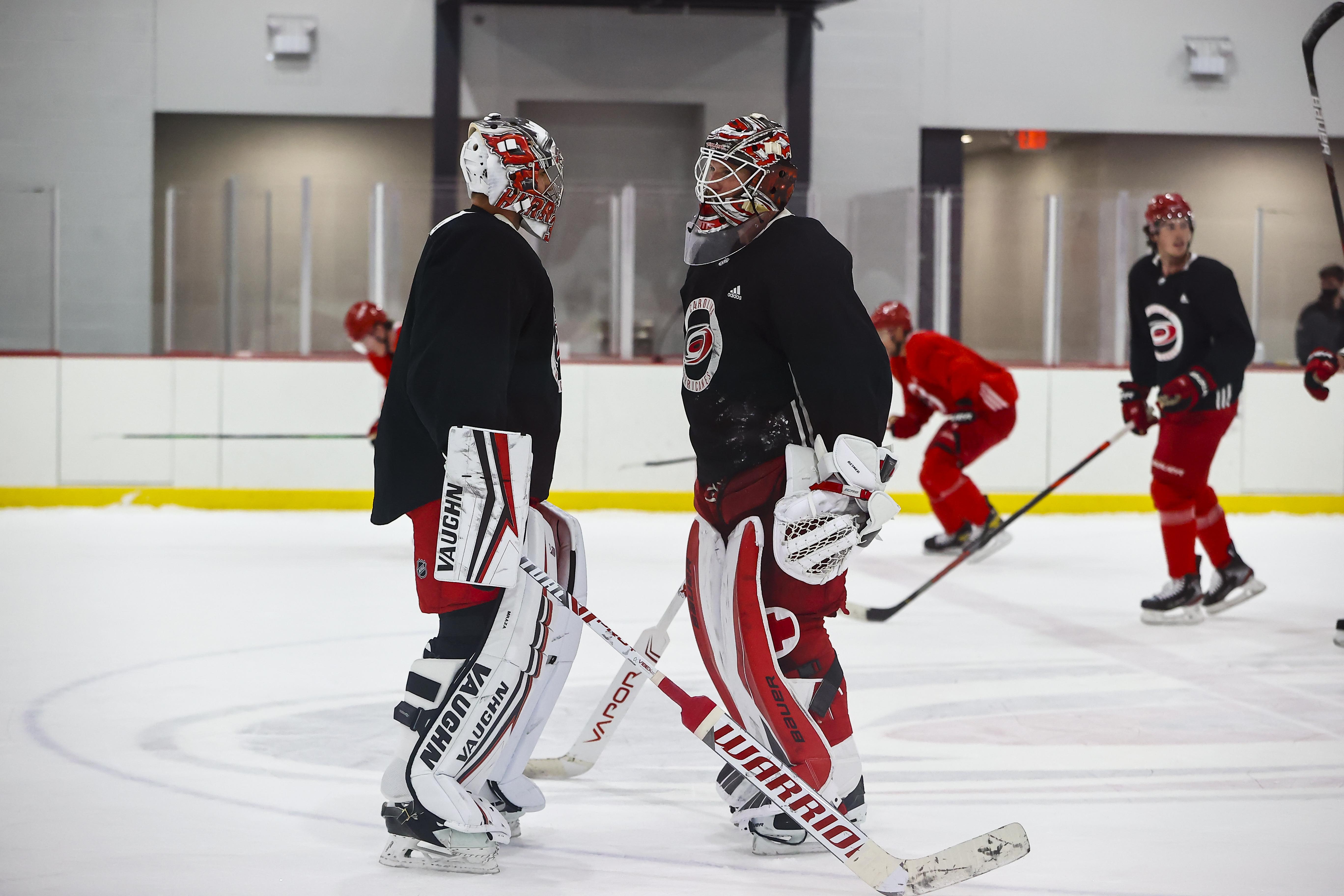 NHL: JAN 07 Hurricanes Training Camp