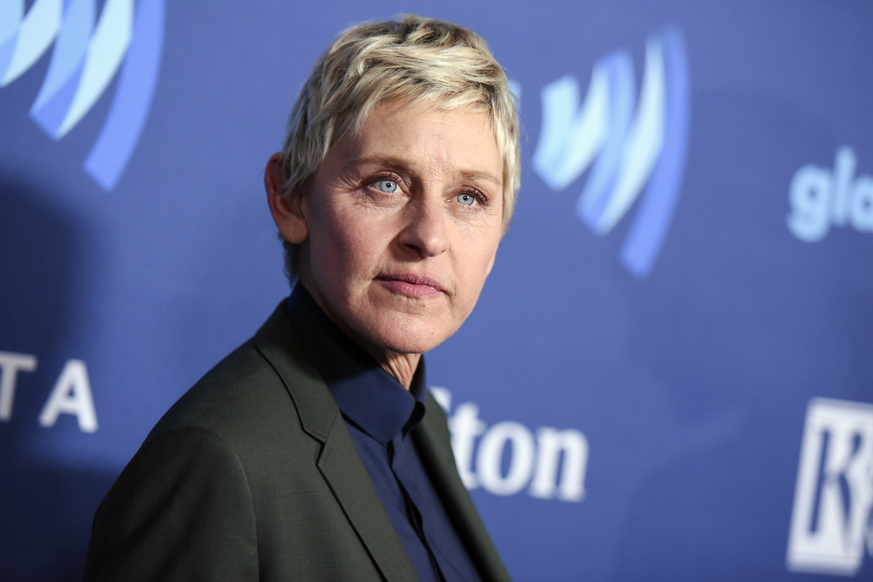 Ellen DeGeneres arrives at the 26th Annual GLAAD Media Awards in Beverly Hills, Calif., on March 21, 2015.