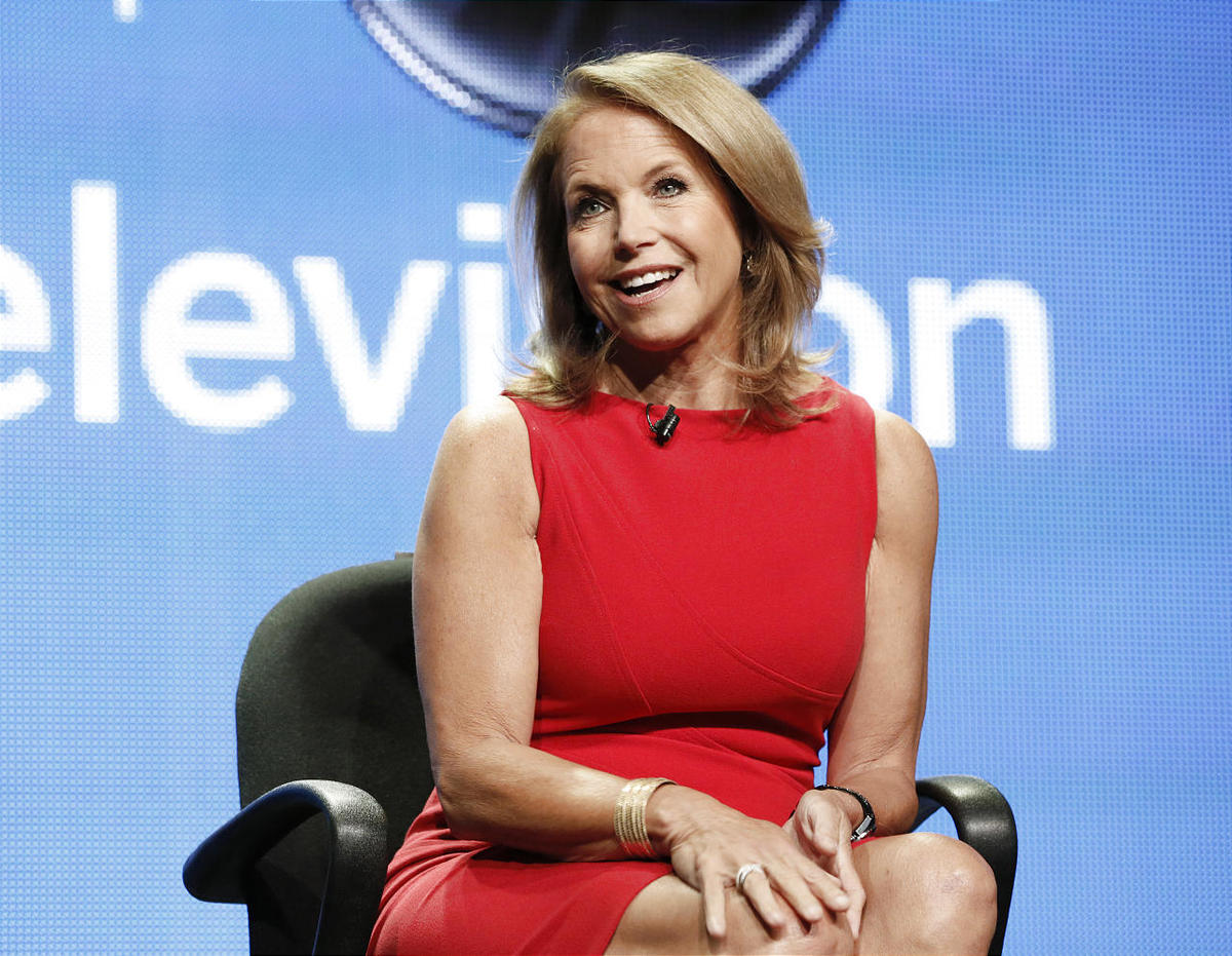 """Katie Couric will host a syndicated talk show, """"Katie."""""""