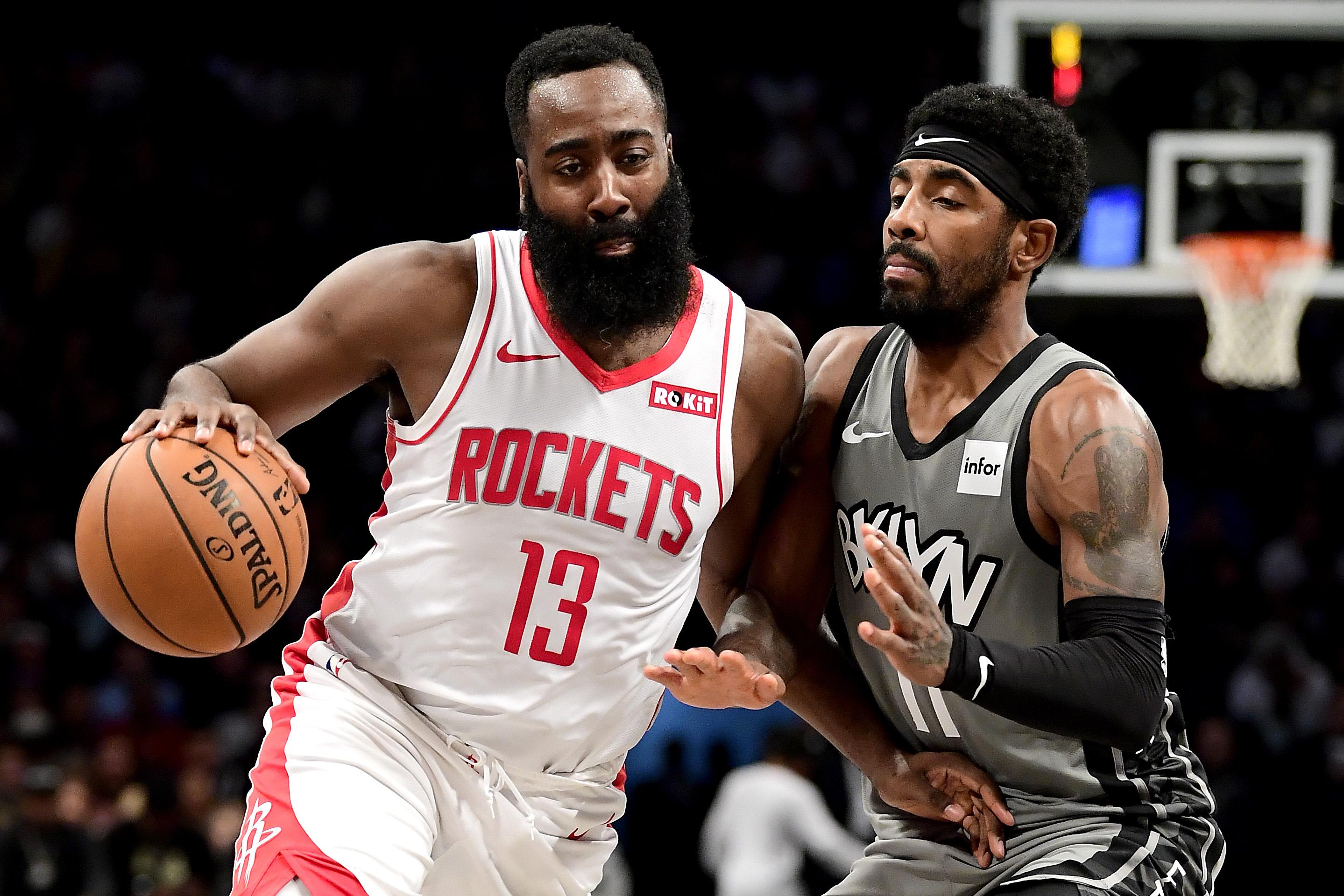 Houston Rockets v Brooklyn Nets