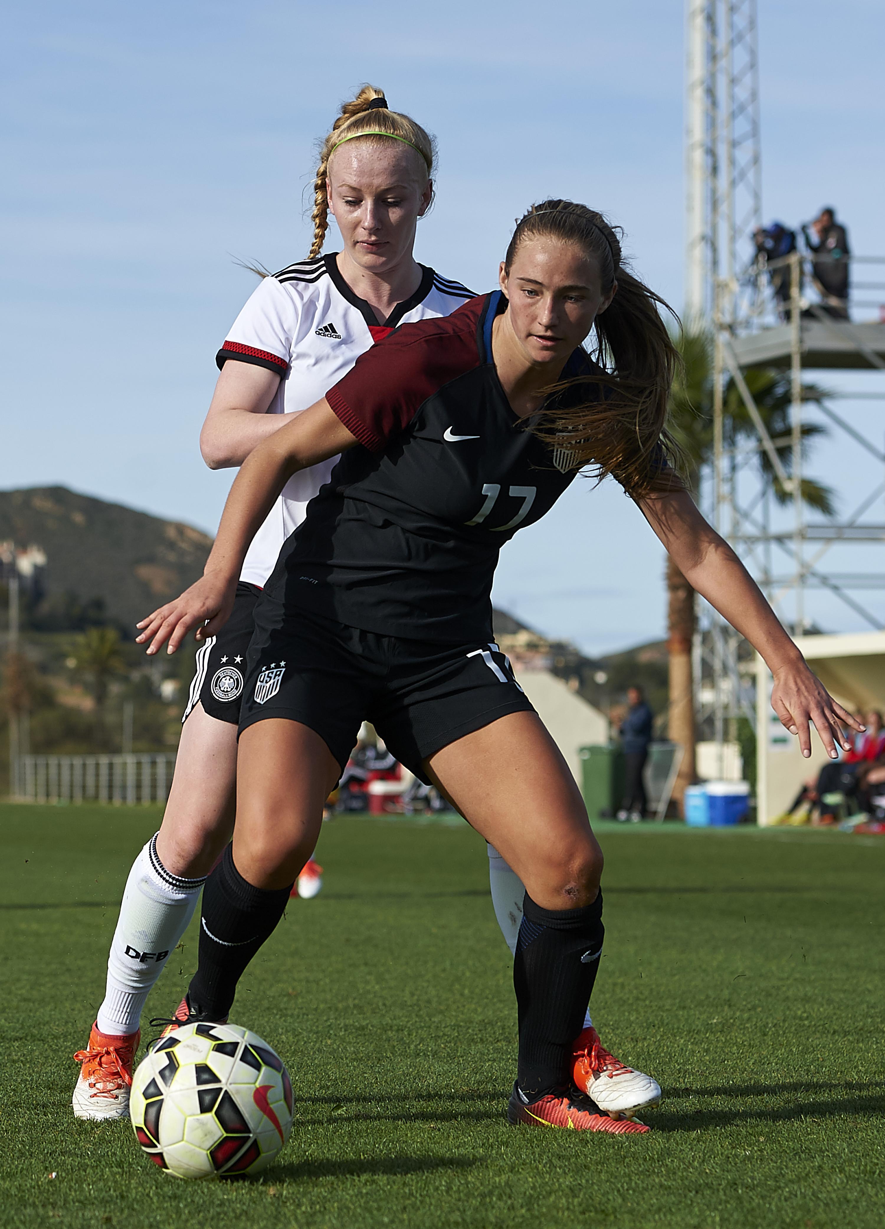 Germany Women's U19 v USA Women's U19 - International Friendly