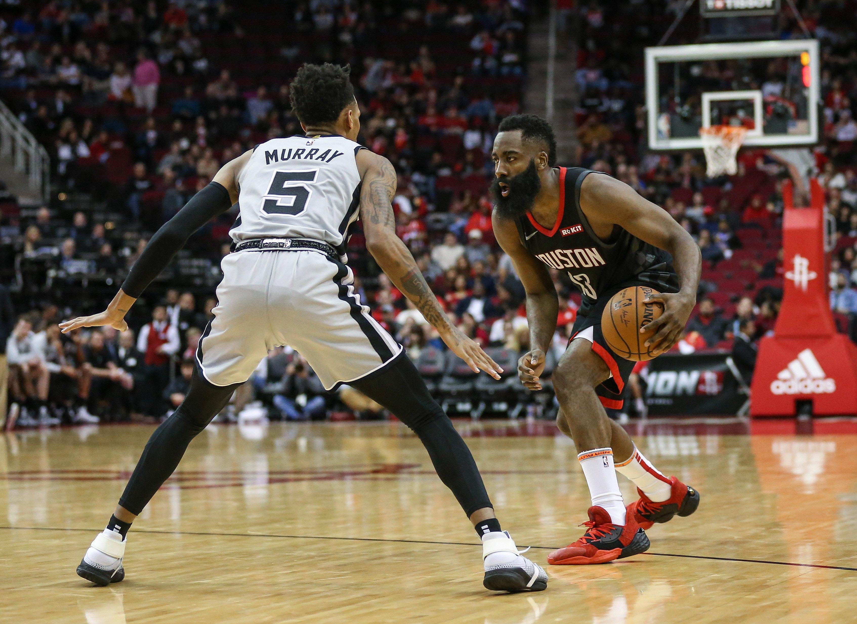 NBA: San Antonio Spurs at Houston Rockets