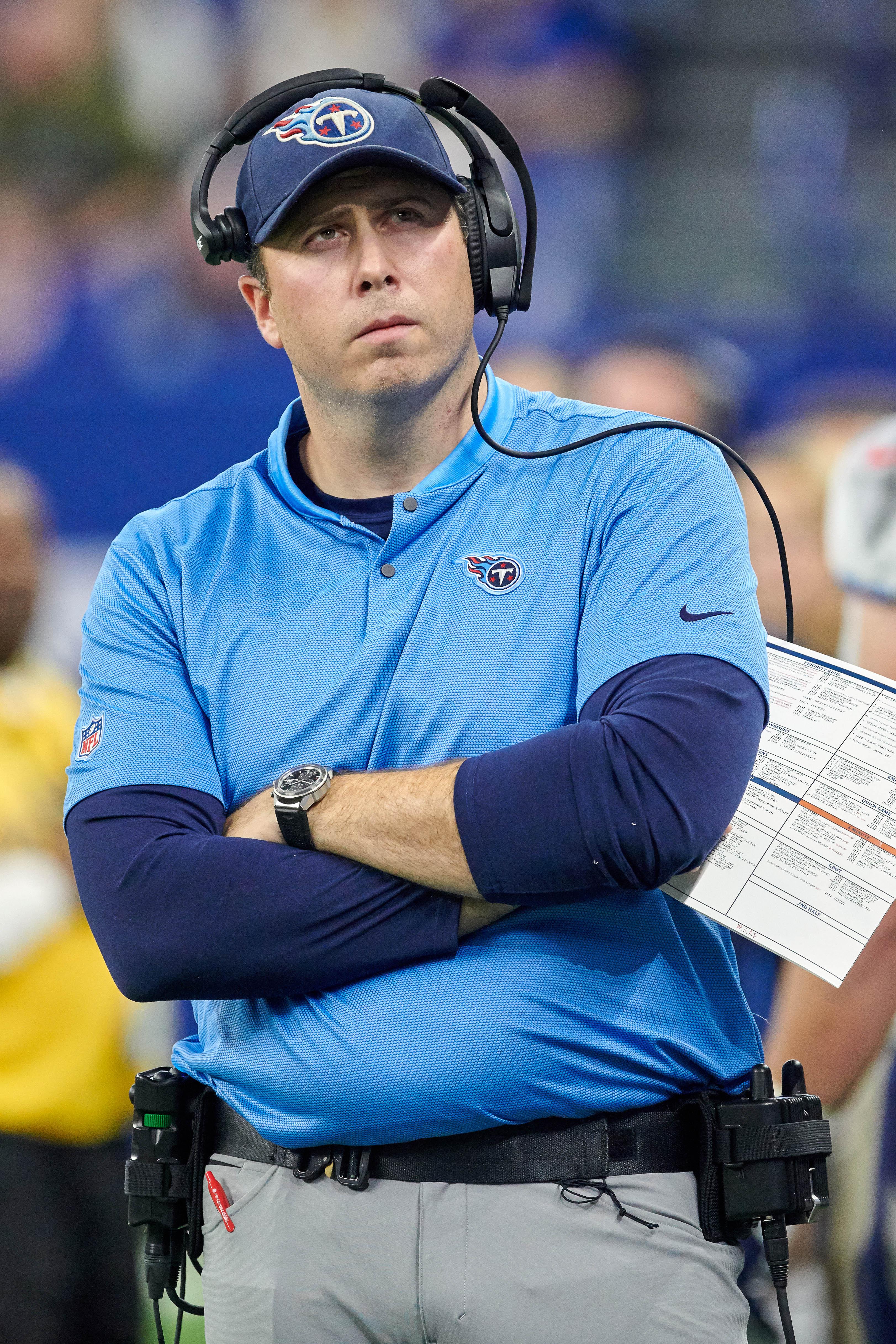 NFL: NOV 18 Titans at Colts
