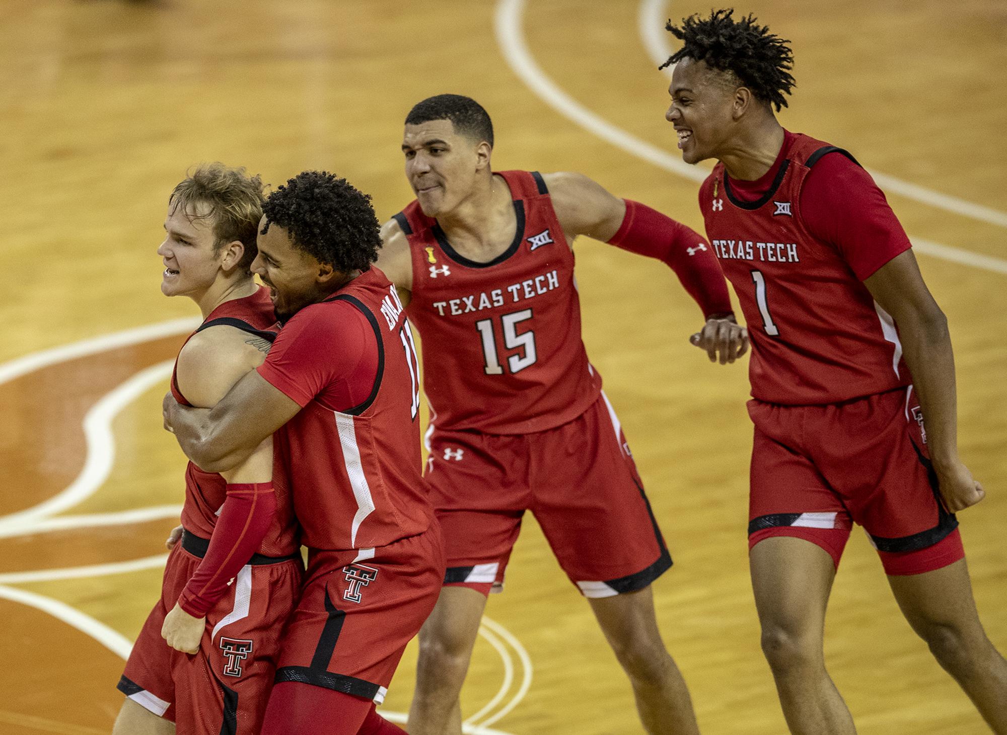 NCAA Basketball: Texas Tech at Texas