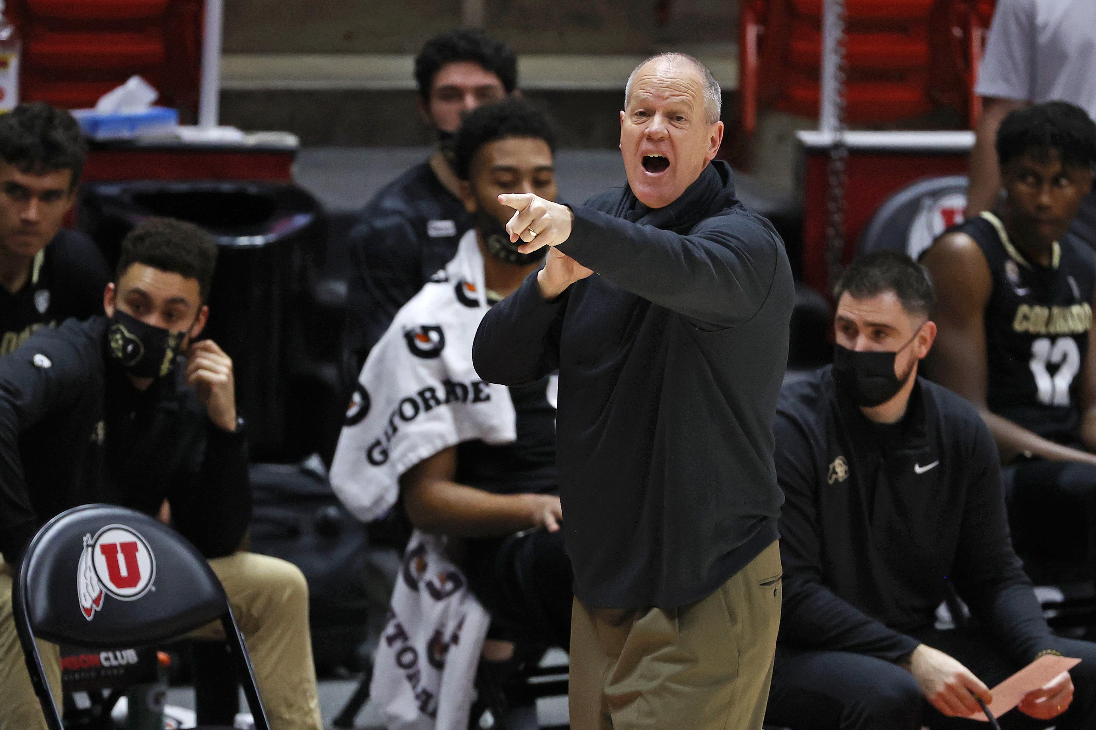 NCAA Basketball: Colorado at Utah