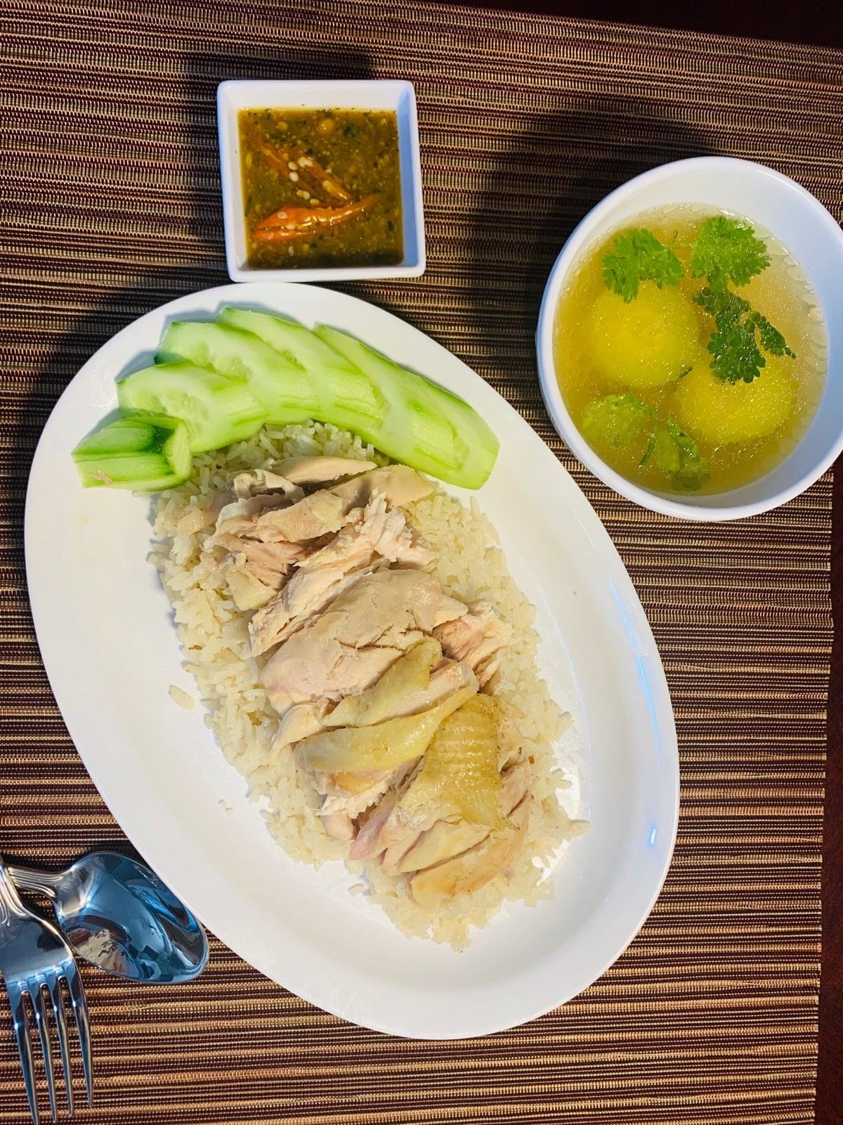 A chicken dish