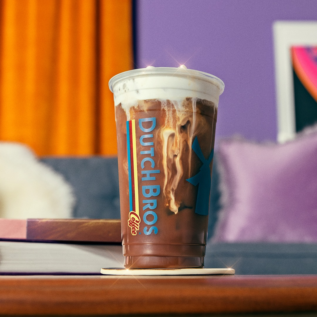 A cold brew drink from Dutch Bros