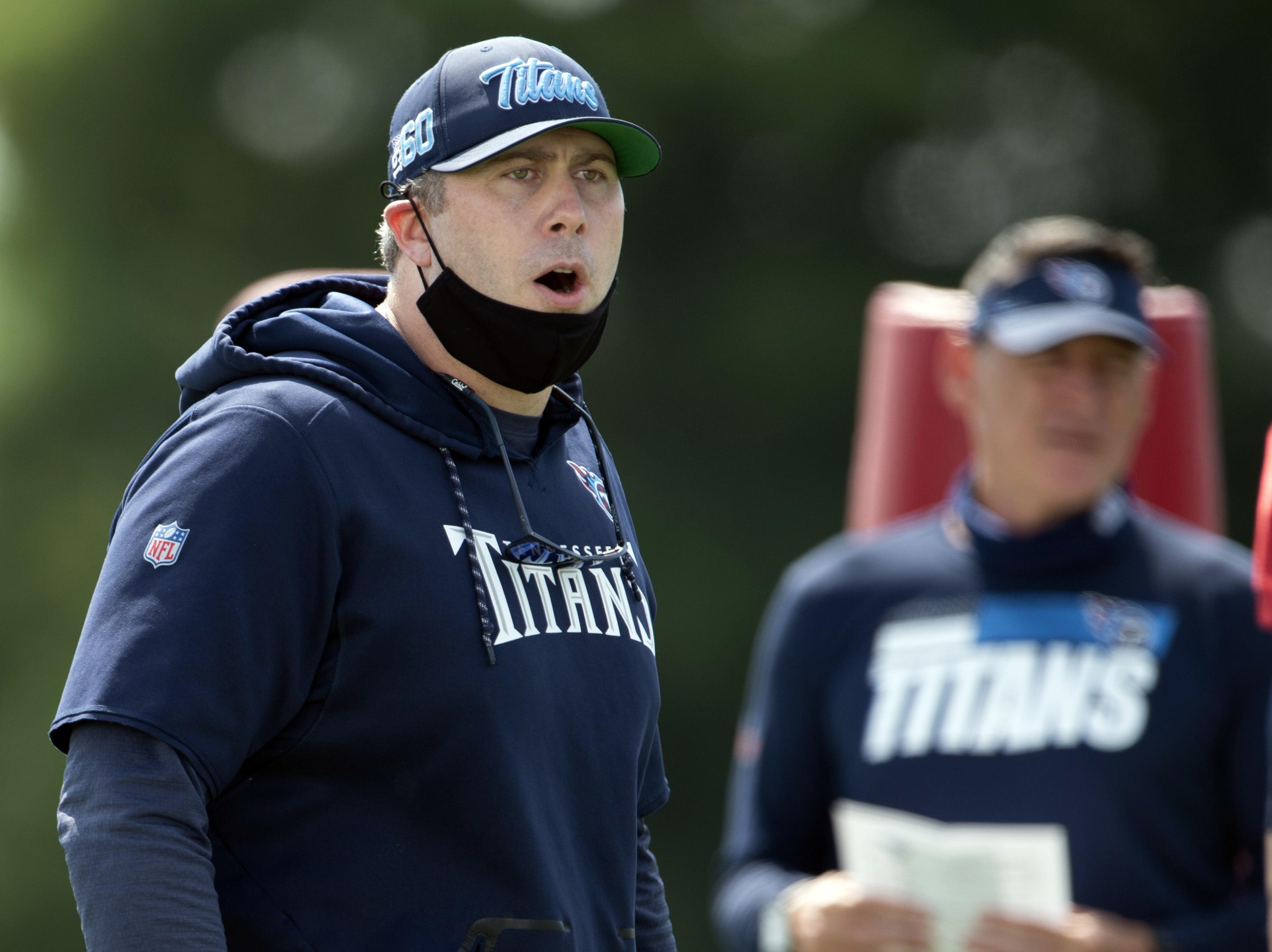 NFL: Tennesse Titans-Training Camp