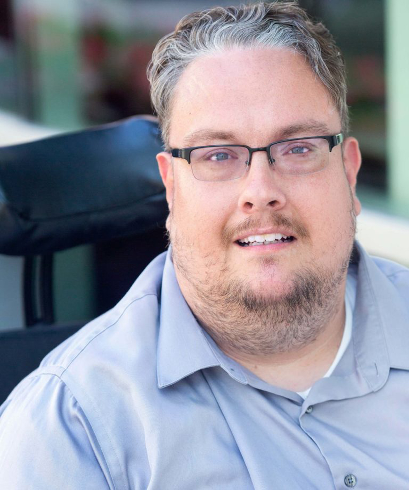 """Adam Ballard of the disability rights group Access Living: """"I have a huge concern that, once the pandemic is over, it's going to be really hard to find a cab"""" through the Taxi Access Program. It provides disabled people with government-subsidized taxi service for just $3 a ride."""