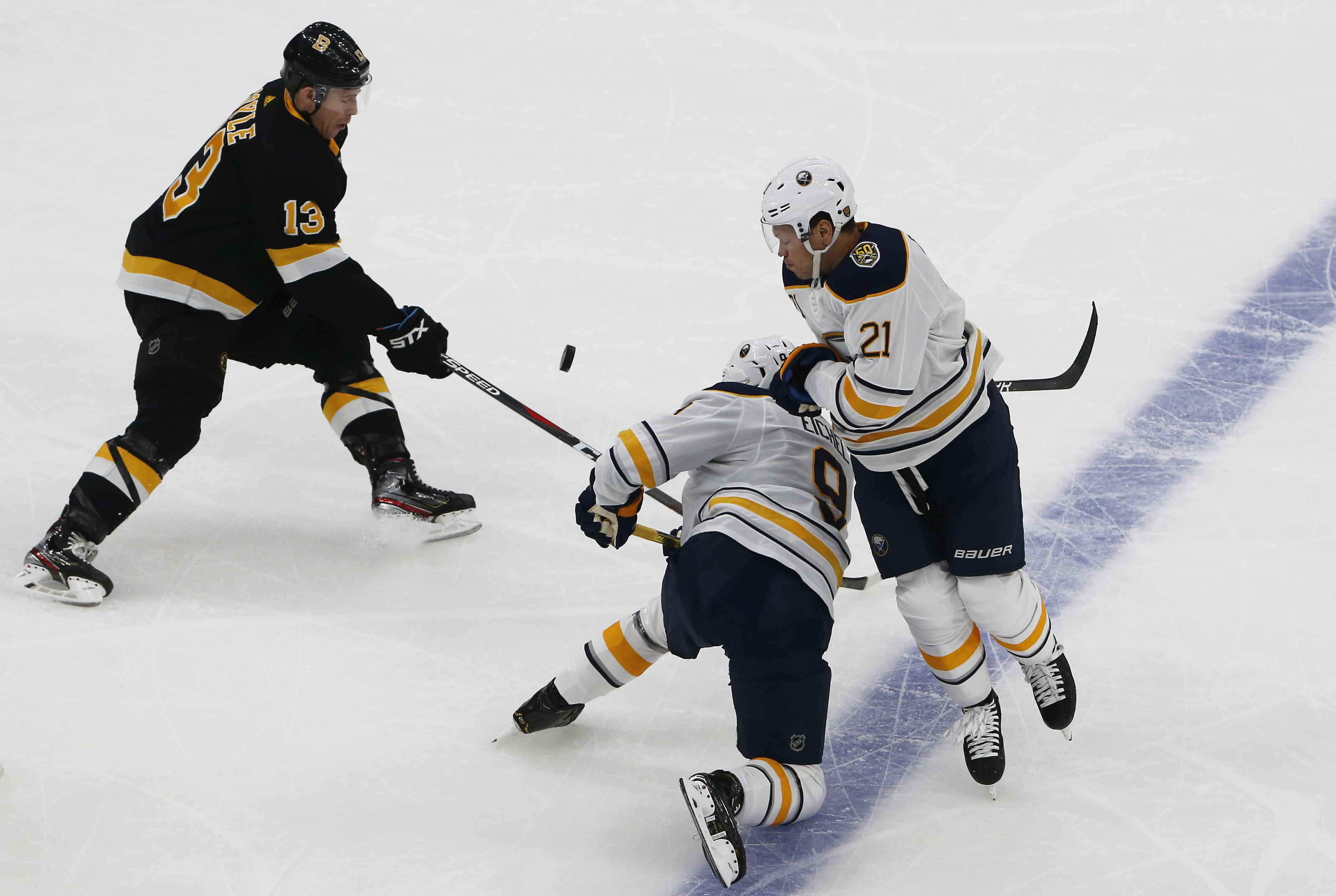 Buffalo Sabres Vs. Boston Bruins at TD Garden