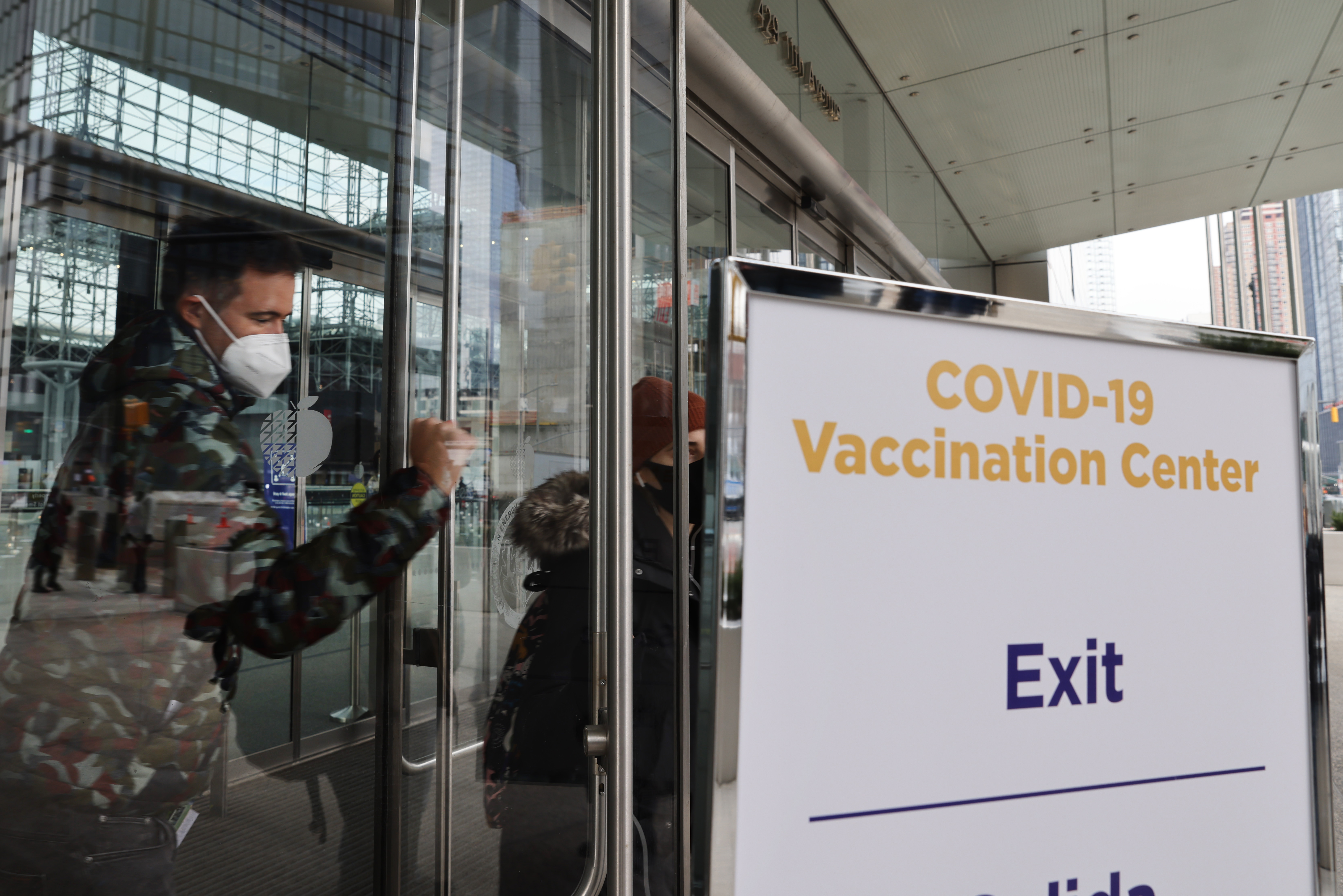 New York City Opens Javits Convention Center As Vaccination Site