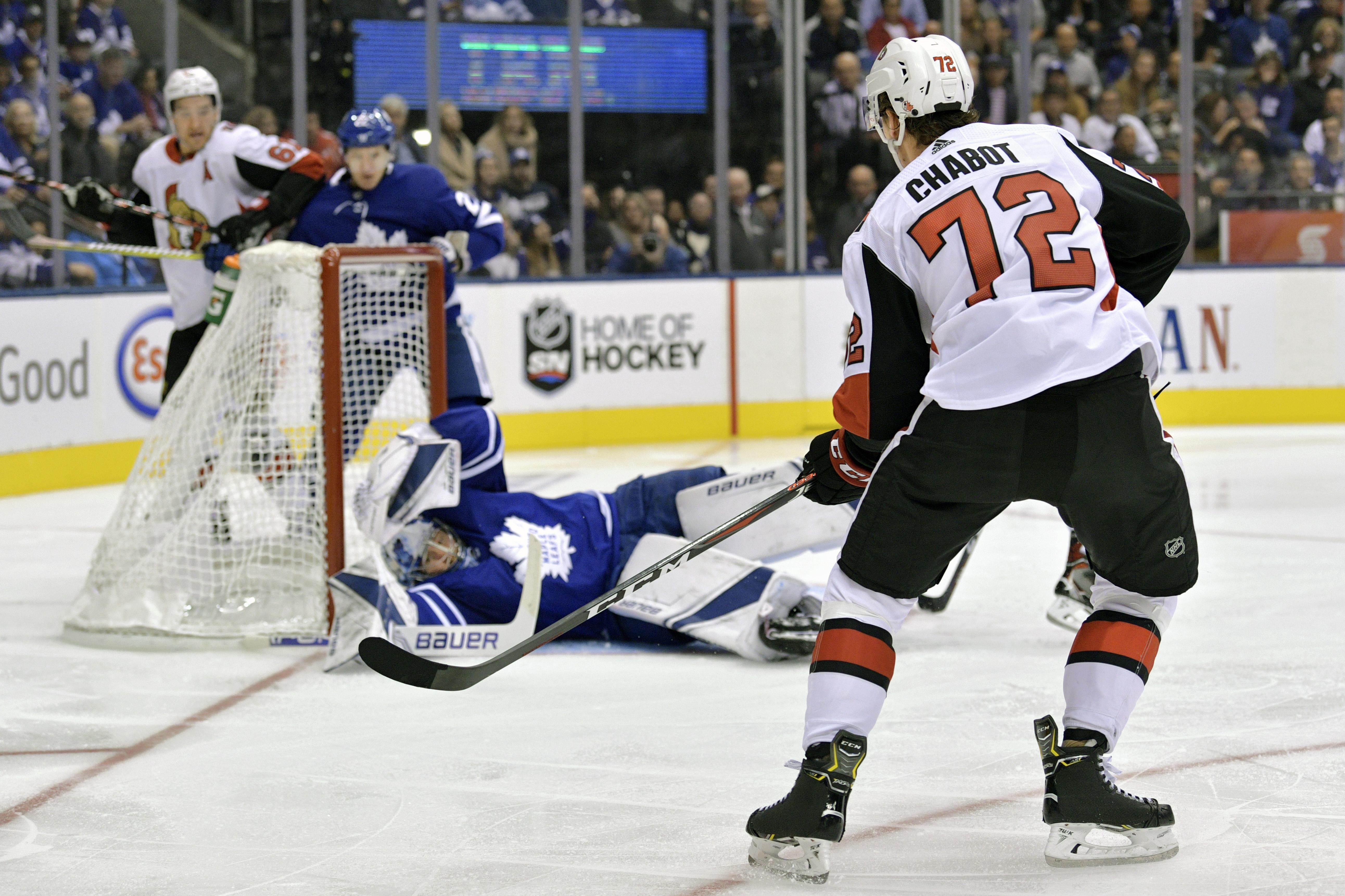 NHL: OCT 06 Senators at Maple Leafs