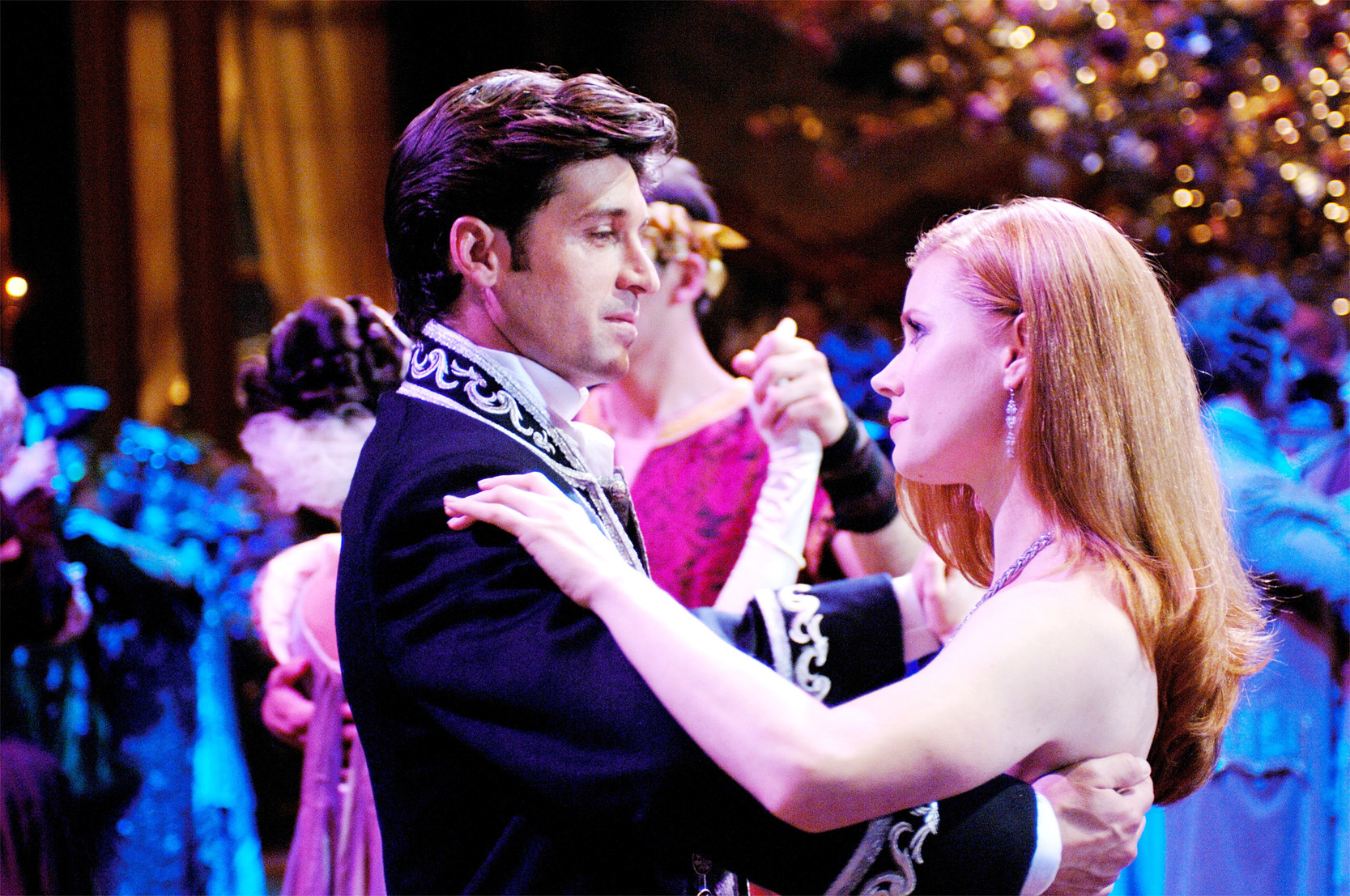 """Amy Adams (left), Patrick Dempsey (right) in """"Enchanted."""""""