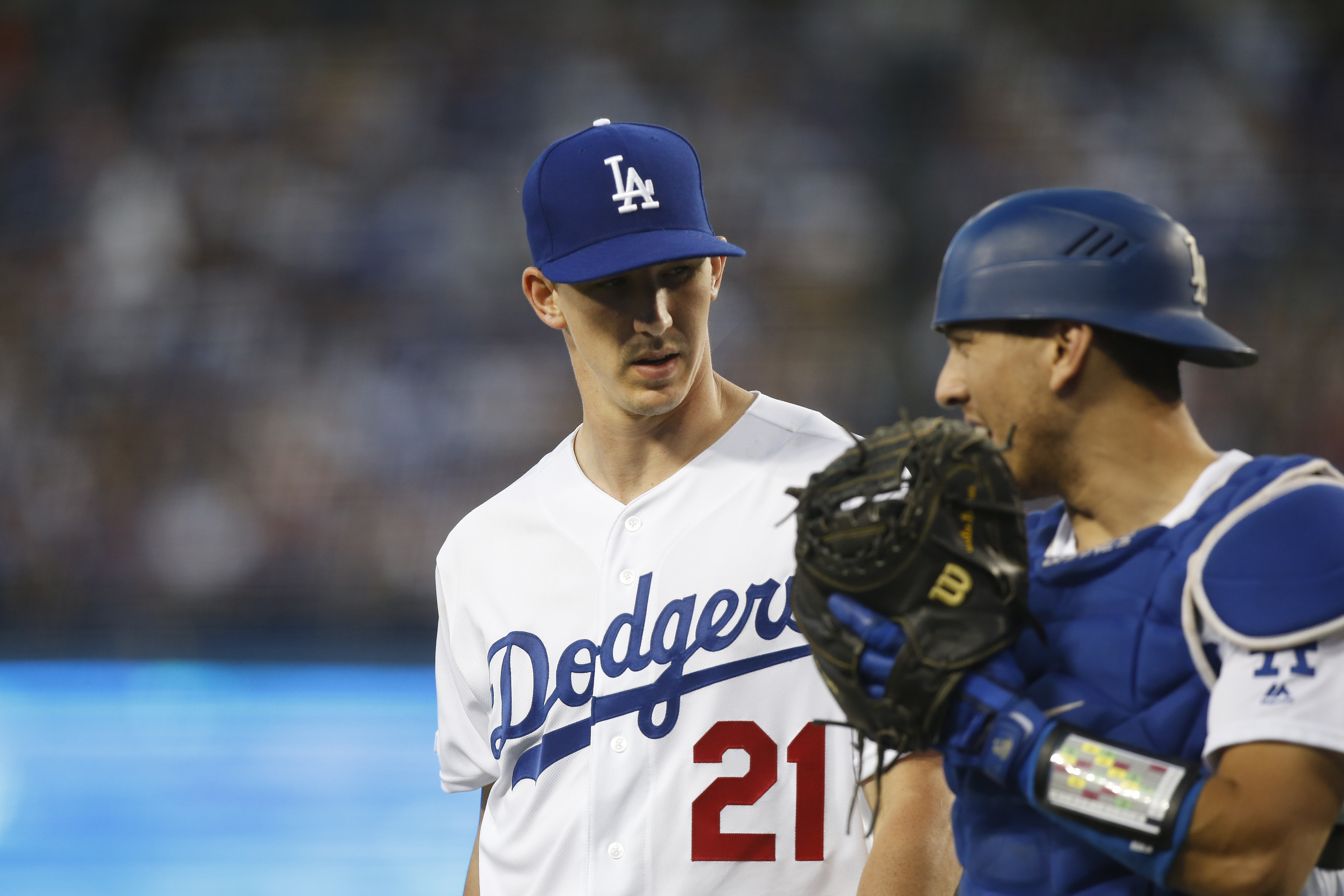 MLB: JUL 03 Diamondbacks at Dodgers