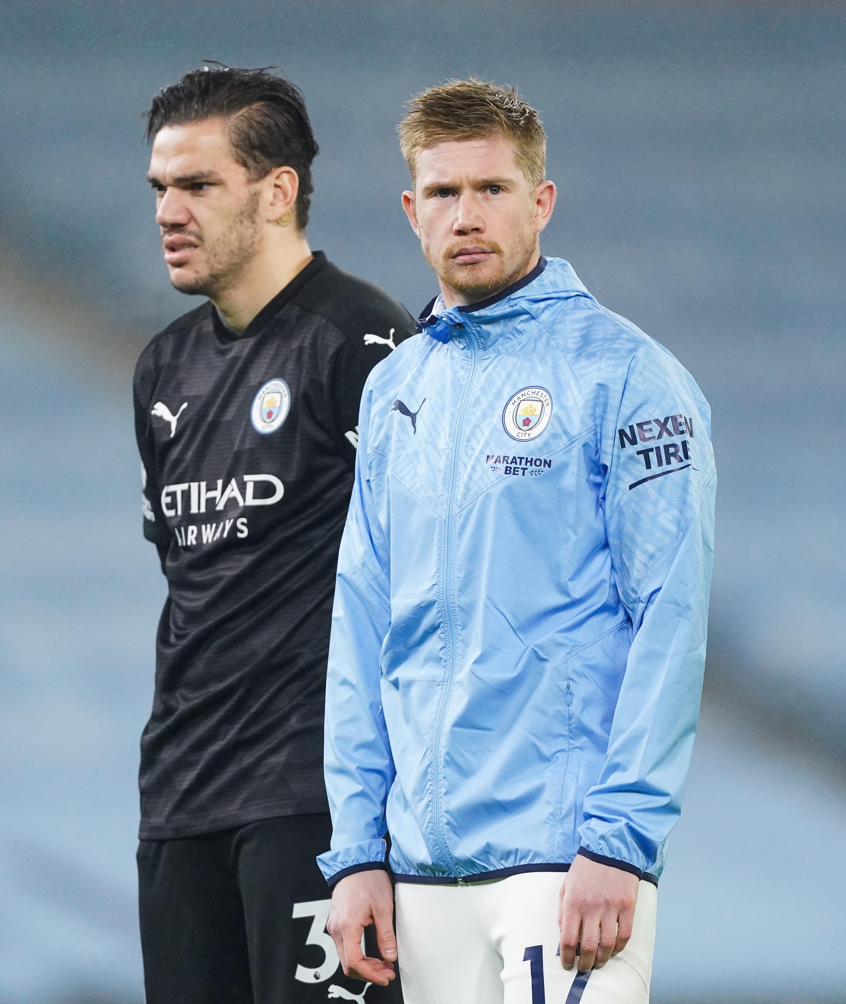 Ederson and Kevin de Bruyne - Manchester City - Premier League