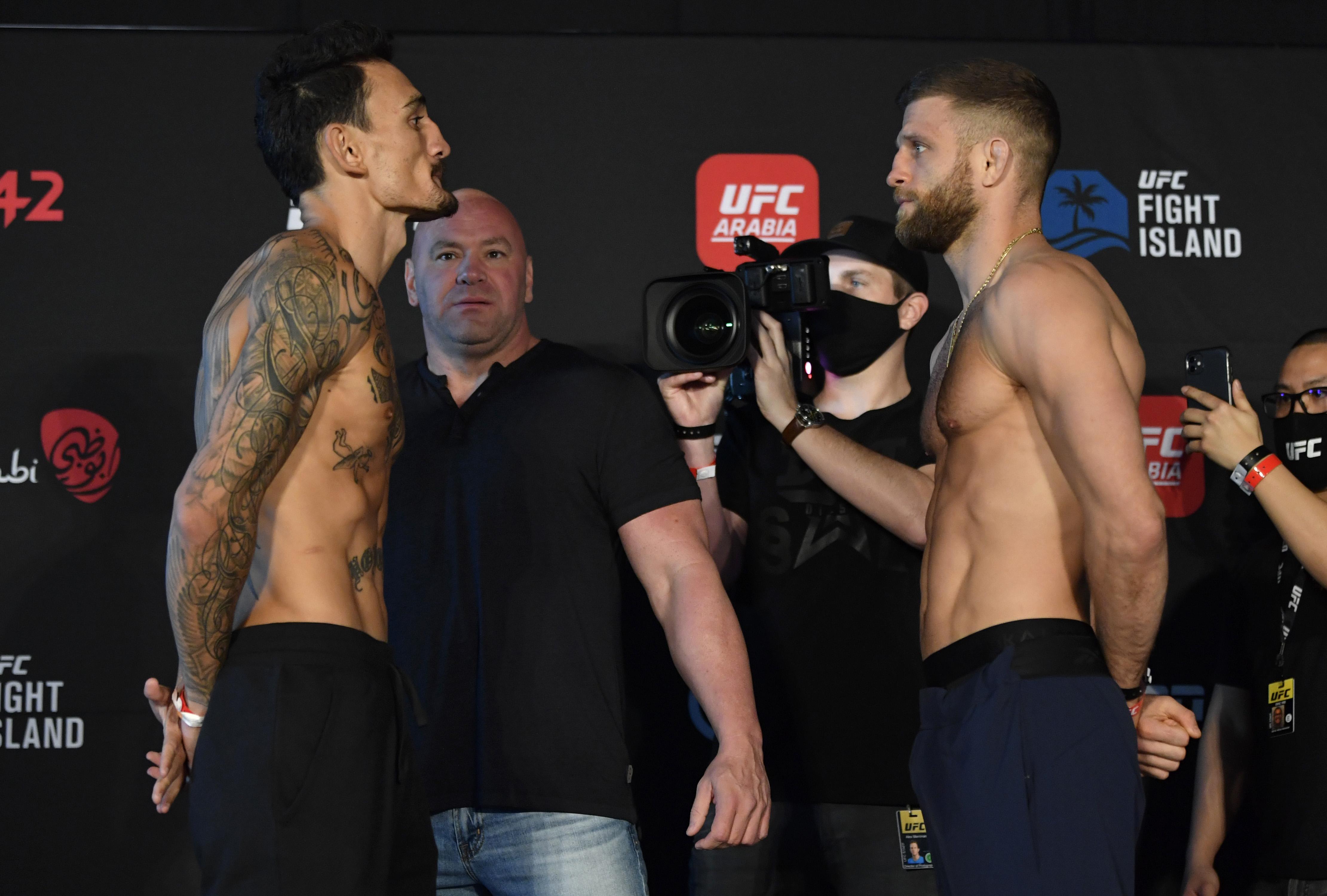 UFC Fight Night Holloway v Kattar: Weigh-Ins