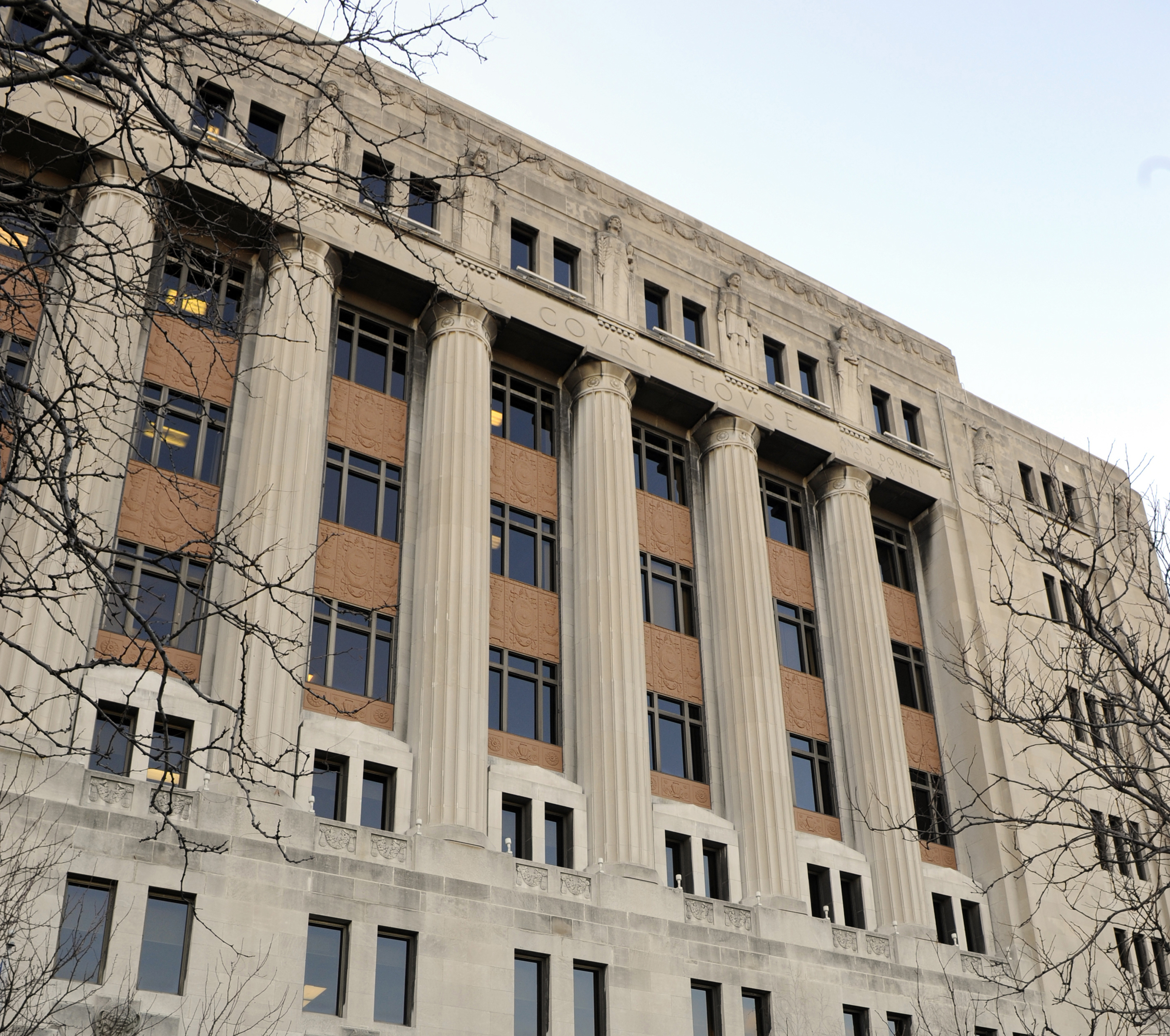 Fire crews responded to a small blaze Dec. 19 at the Leighton Criminal Court Building.