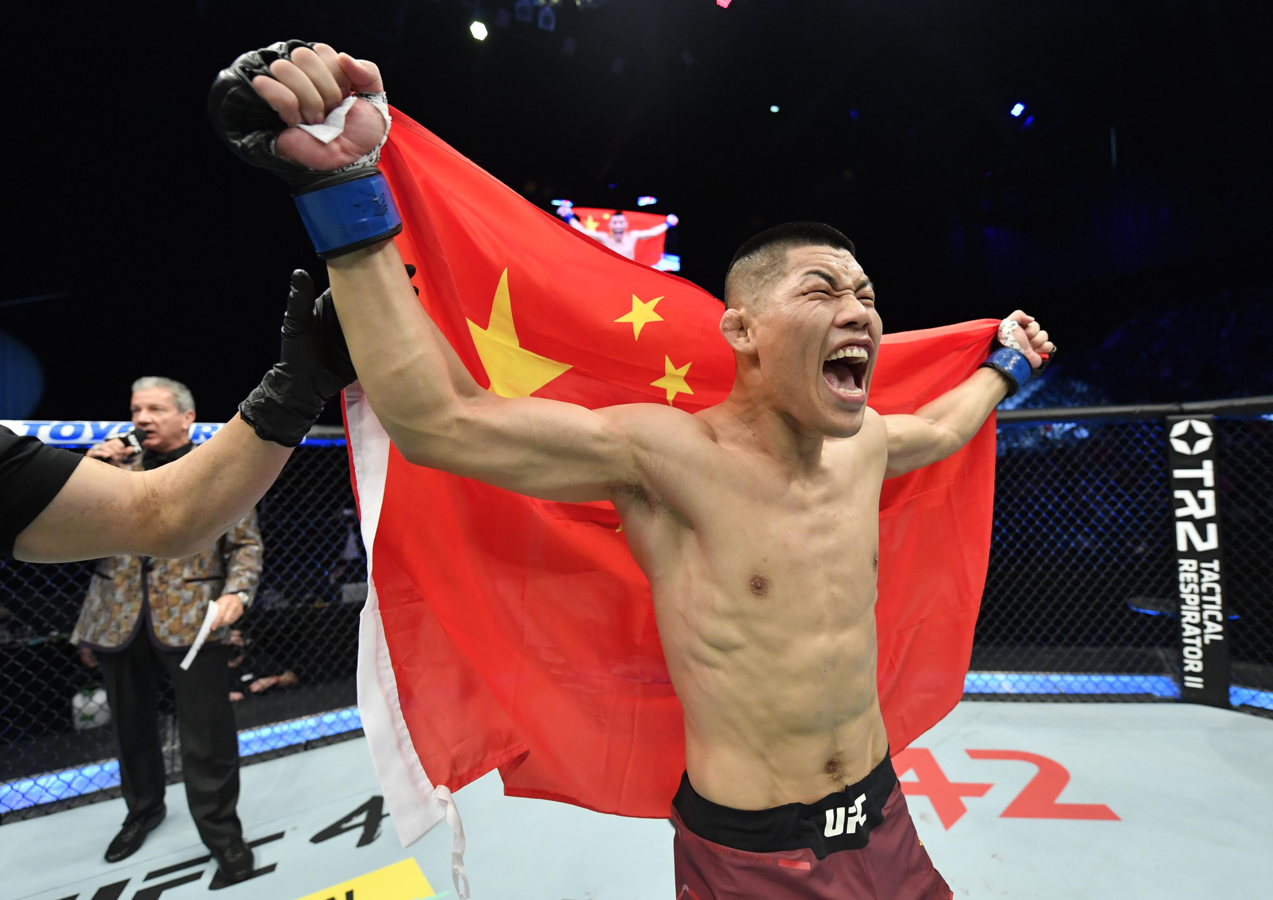 UFC Fight Night: Ponzinibbio v Jingliang