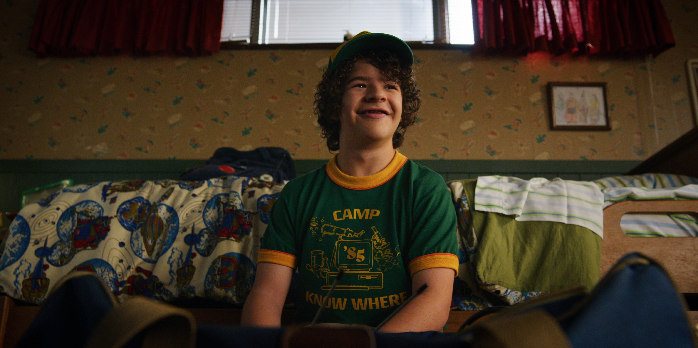 """Gaten Matarazzo in """"Stranger Things 3."""""""