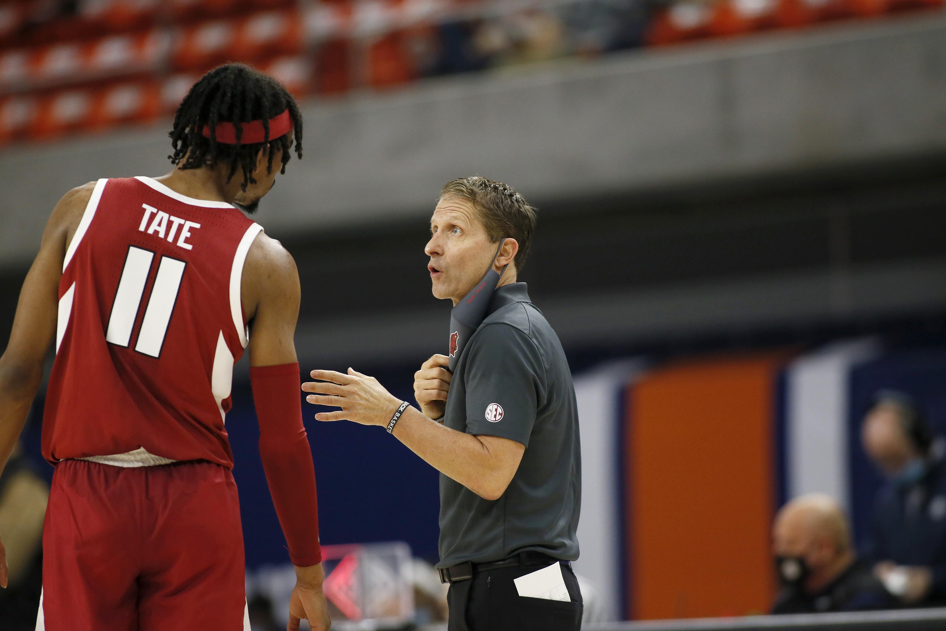NCAA Basketball: Arkansas at Auburn