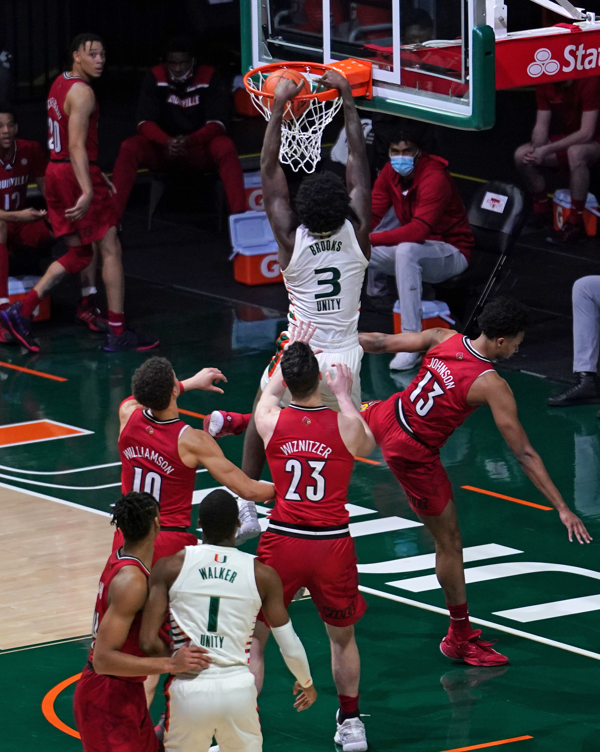 NCAA Basketball: Louisville at Miami-Florida