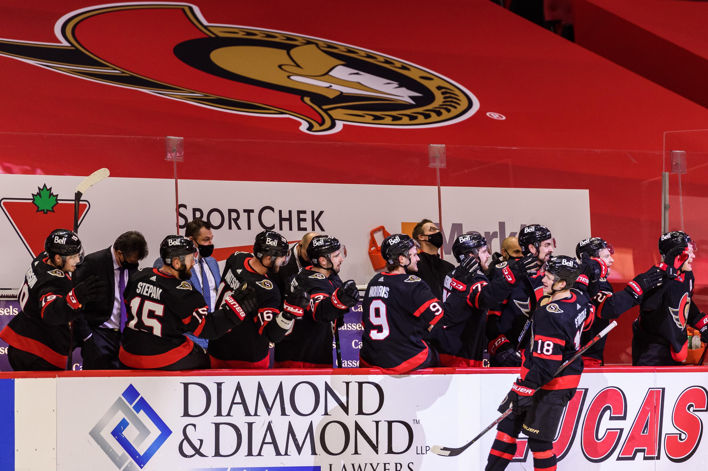 NHL: JAN 16 Toronto Maple Leafs at Ottawa Senators