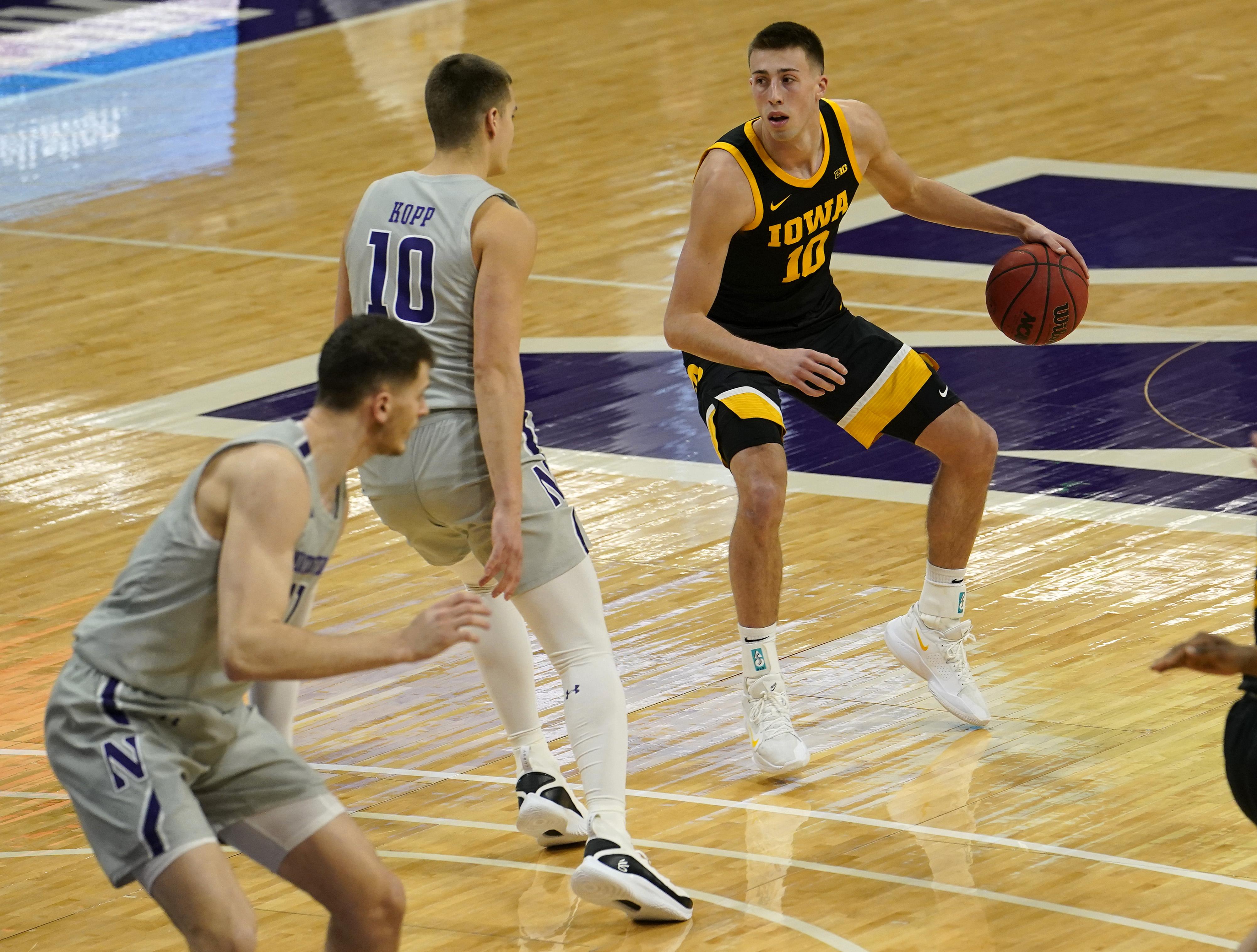 NCAA Basketball: Iowa at Northwestern