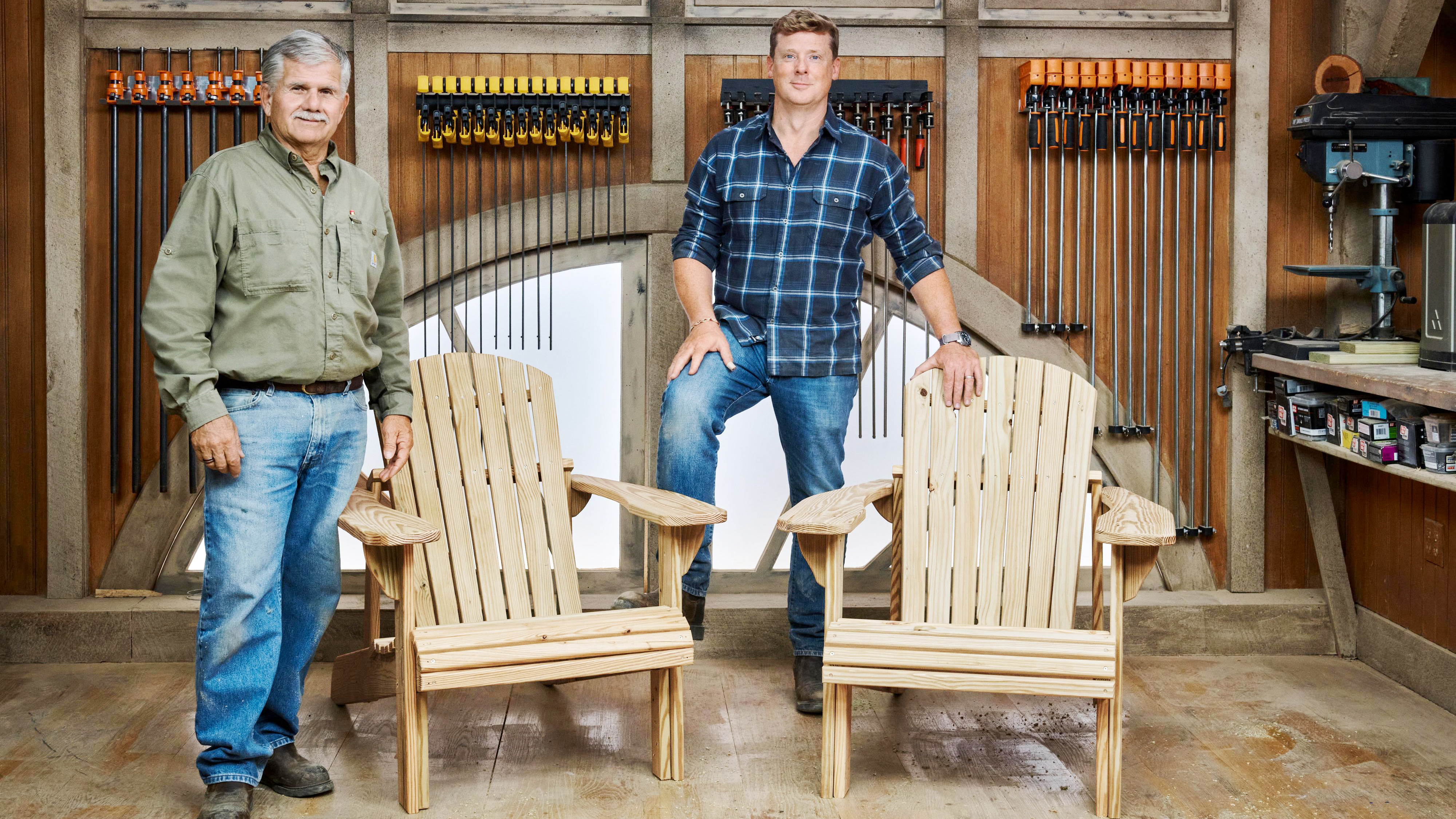 Summer 2021, Build It, Adirondack chair, Tom Silva and Kevin O'Connor
