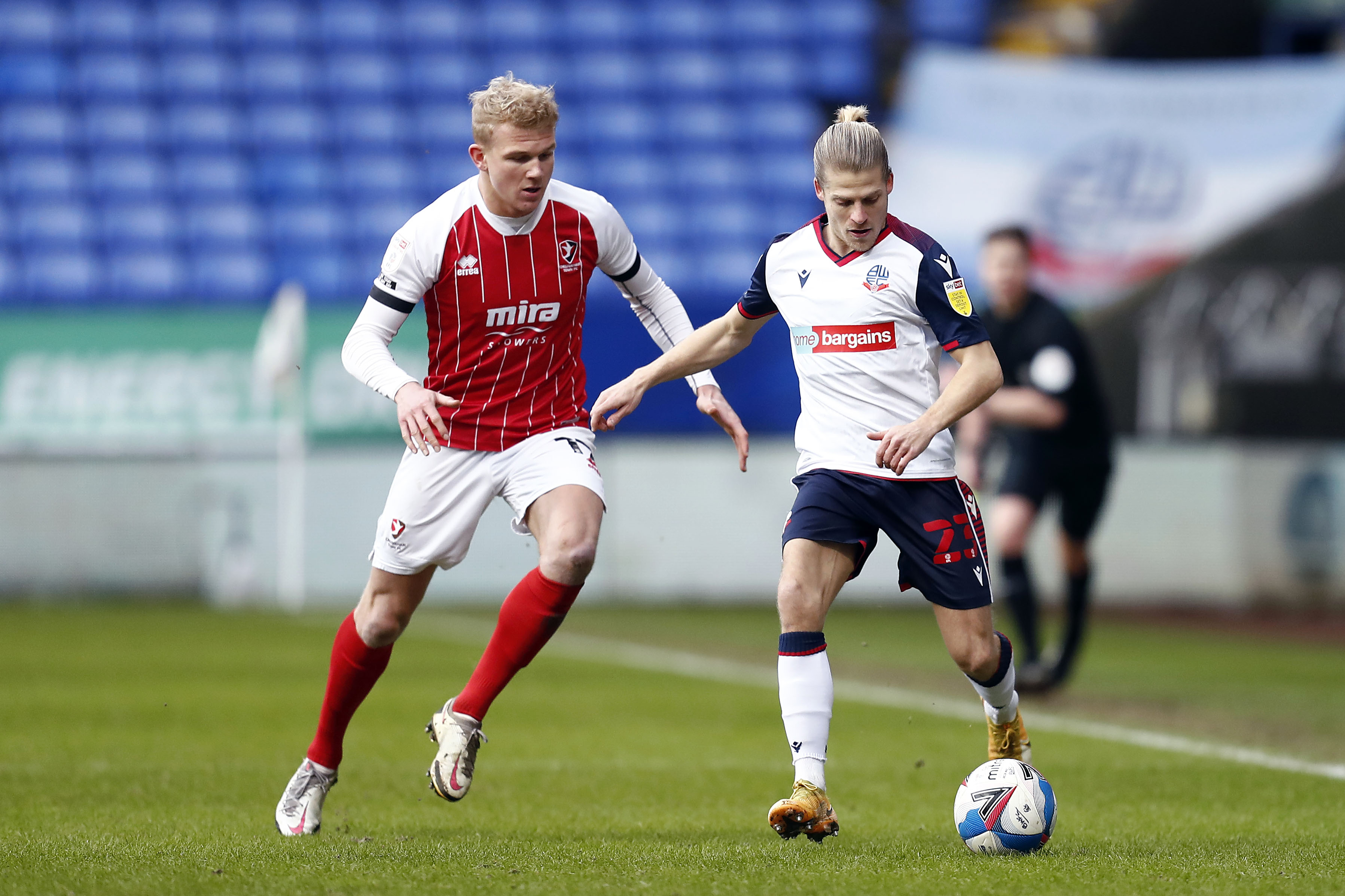 Bolton Wanderers v Cheltenham Town - Sky Bet League 2