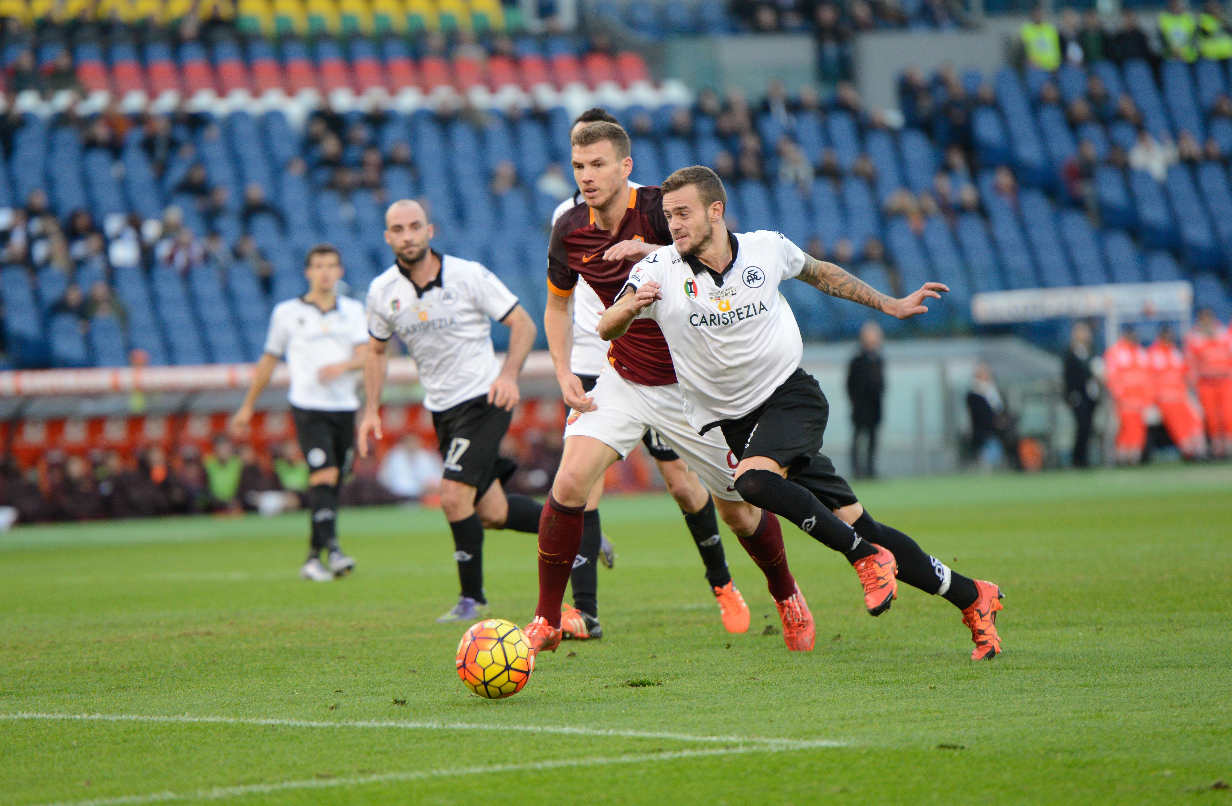 AS Roma v AC Spezia - TIM Cup