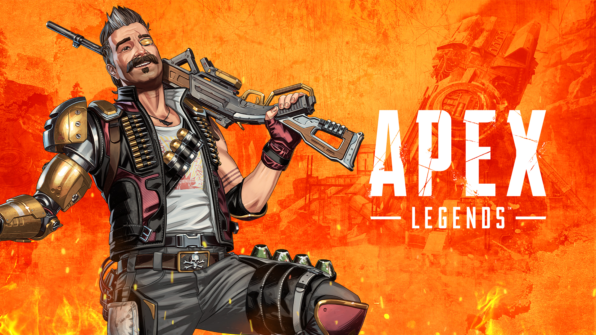 artwork of Fuse from Apex Legends season 8