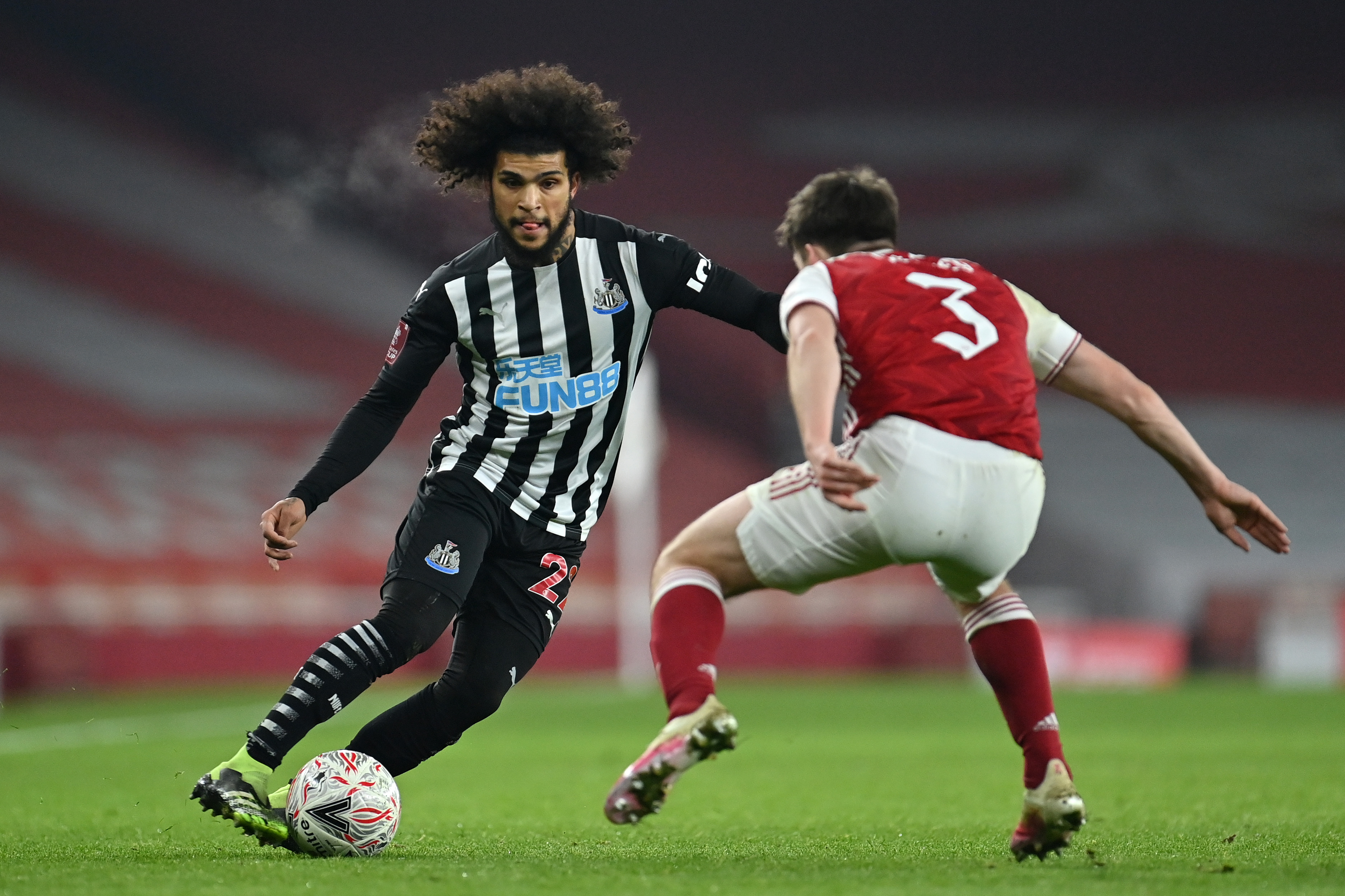 Arsenal v Newcastle United - FA Cup Third Round
