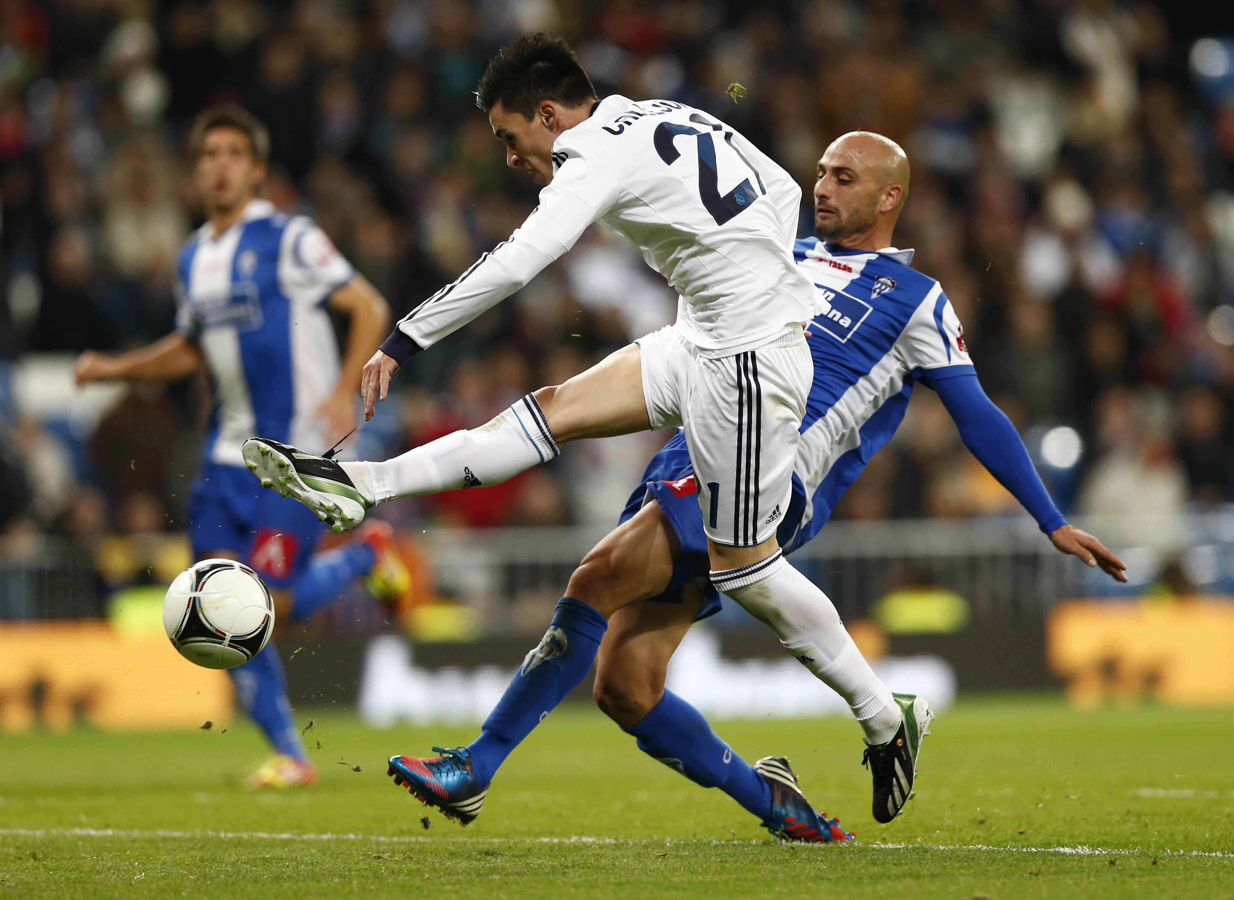 Real Madrid v CD Alcoyano - Copa del Rey