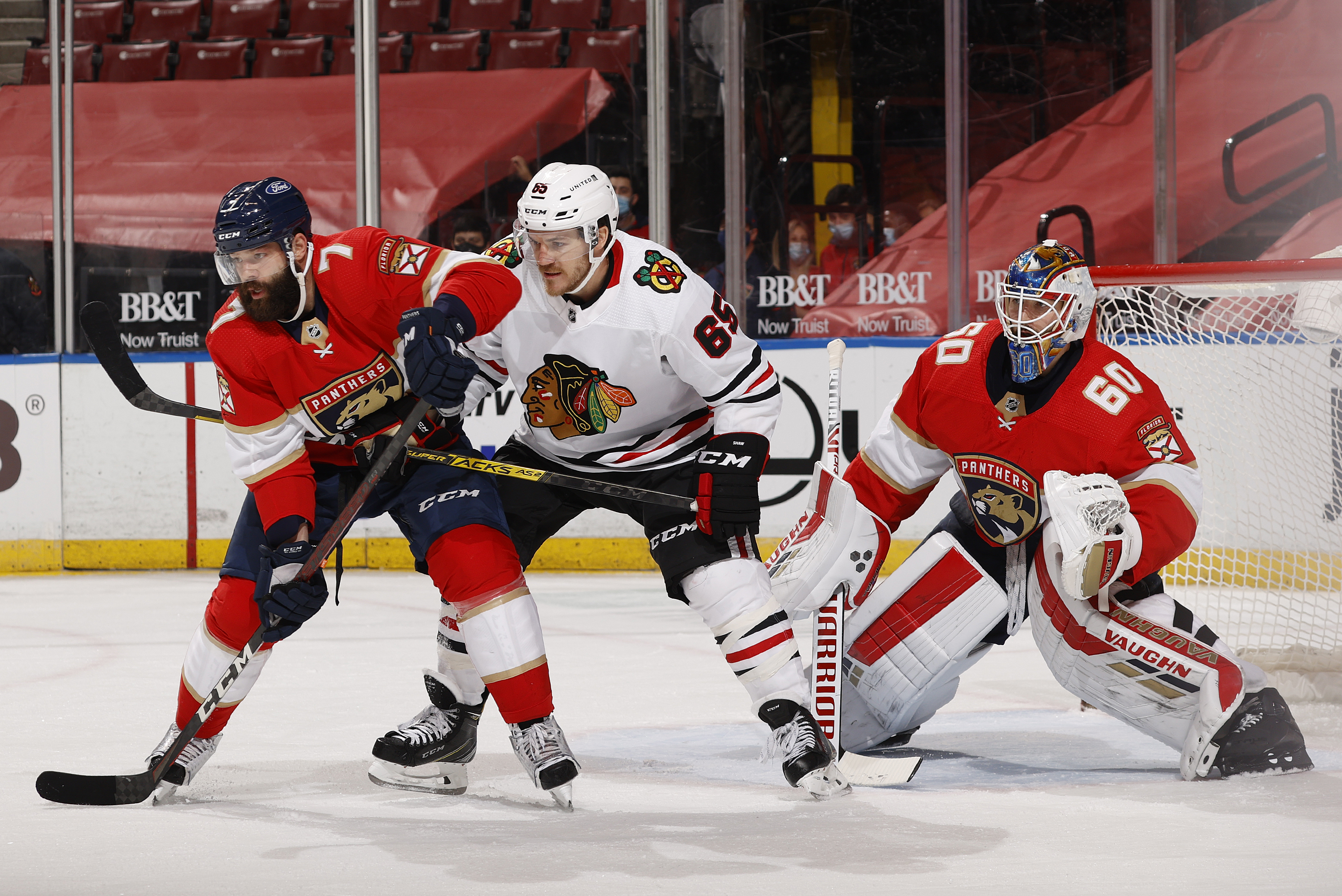 Andrew Shaw has been a part of the Blackhawks' top power play unit.