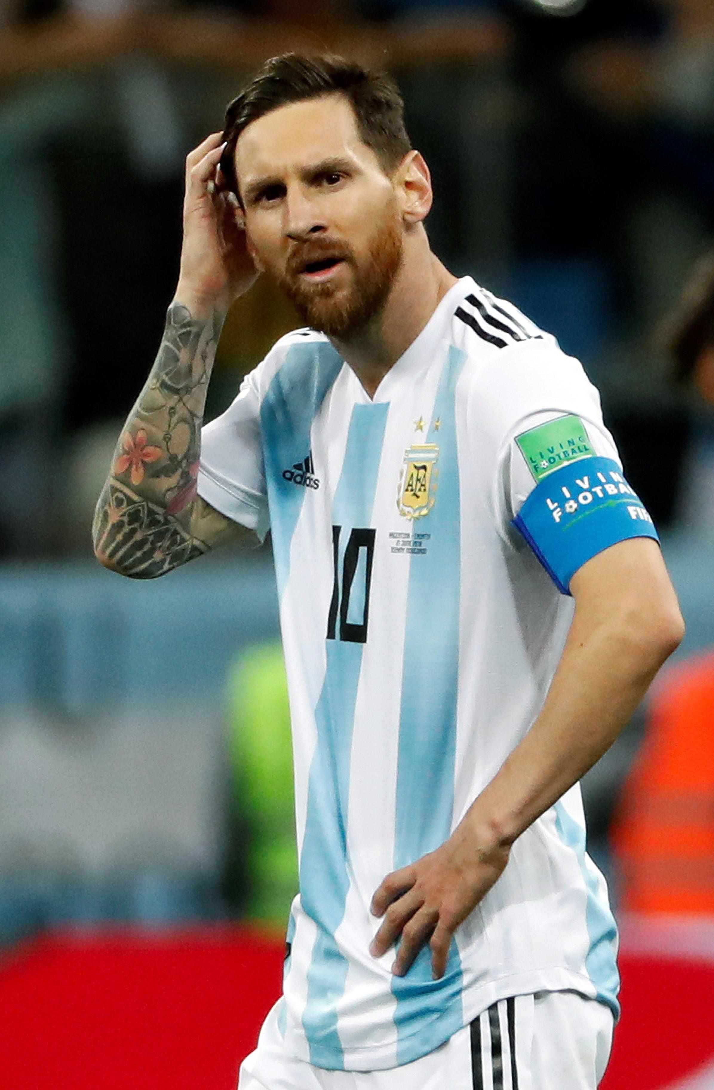 Soccer: World Cup-Argentina vs Croatia