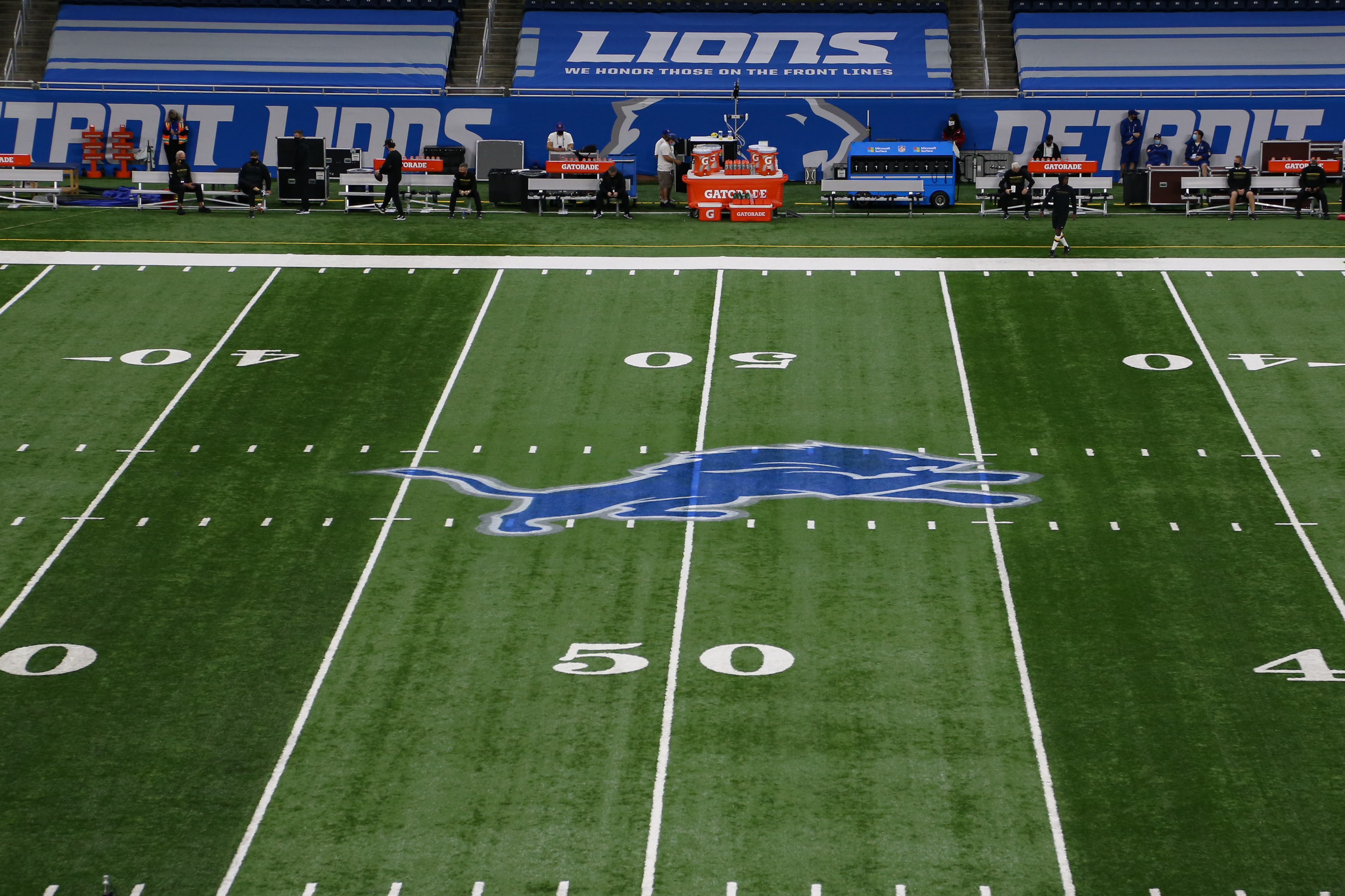 NFL: NOV 15 Washington Football Team at Lions