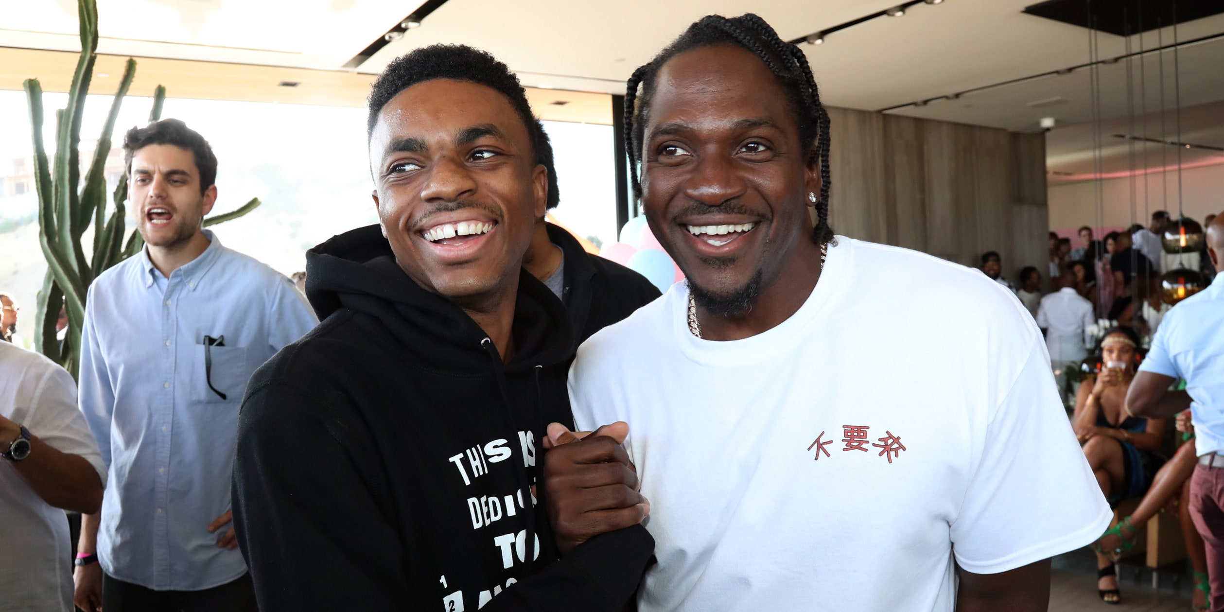 Vince Staples and Pusha T