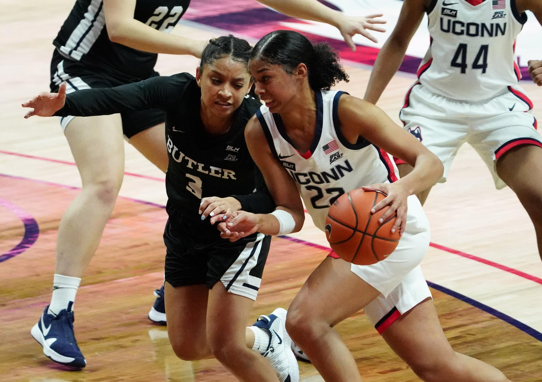 NCAA Womens Basketball: Butler at Connecticut