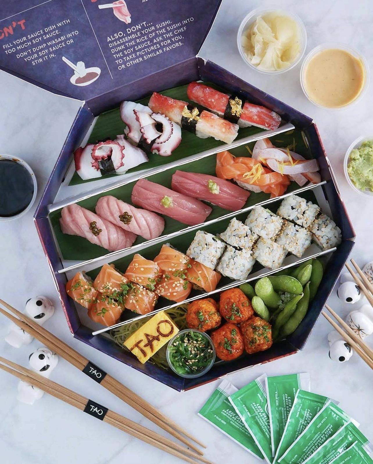 A sushi box