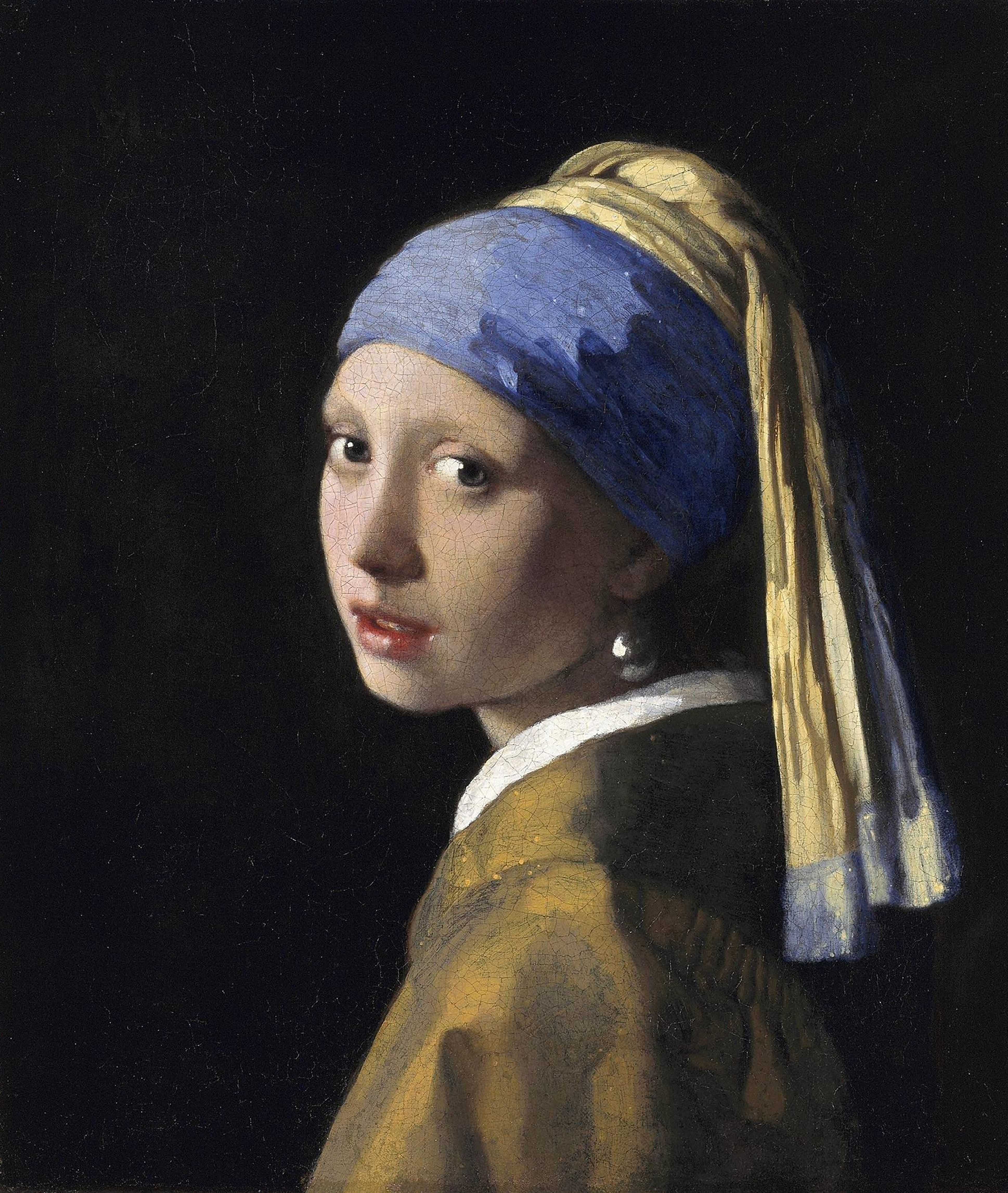 Girl with a Pearl Earring by Jan Vermeer