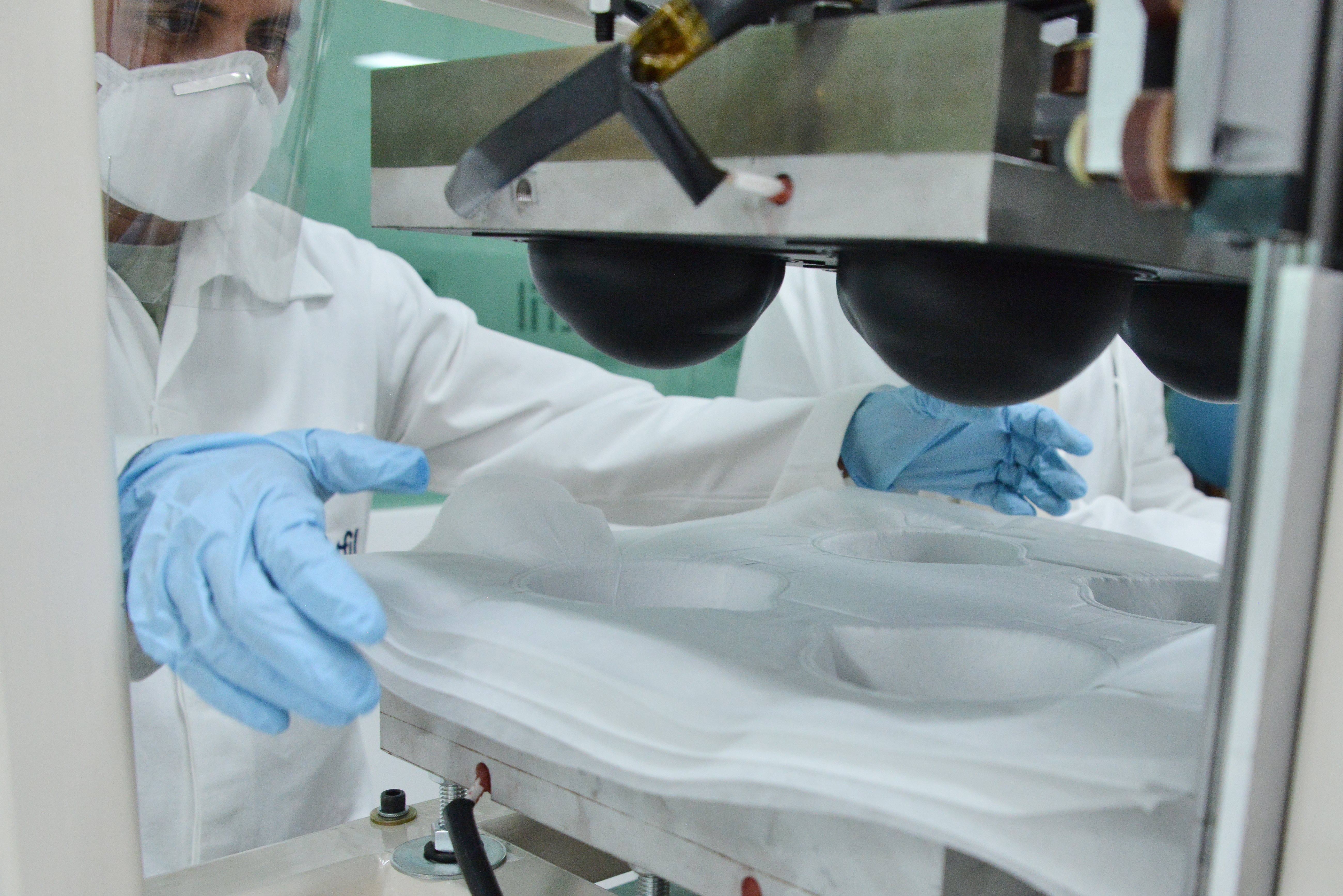 N95 Masks Production In Mexico City