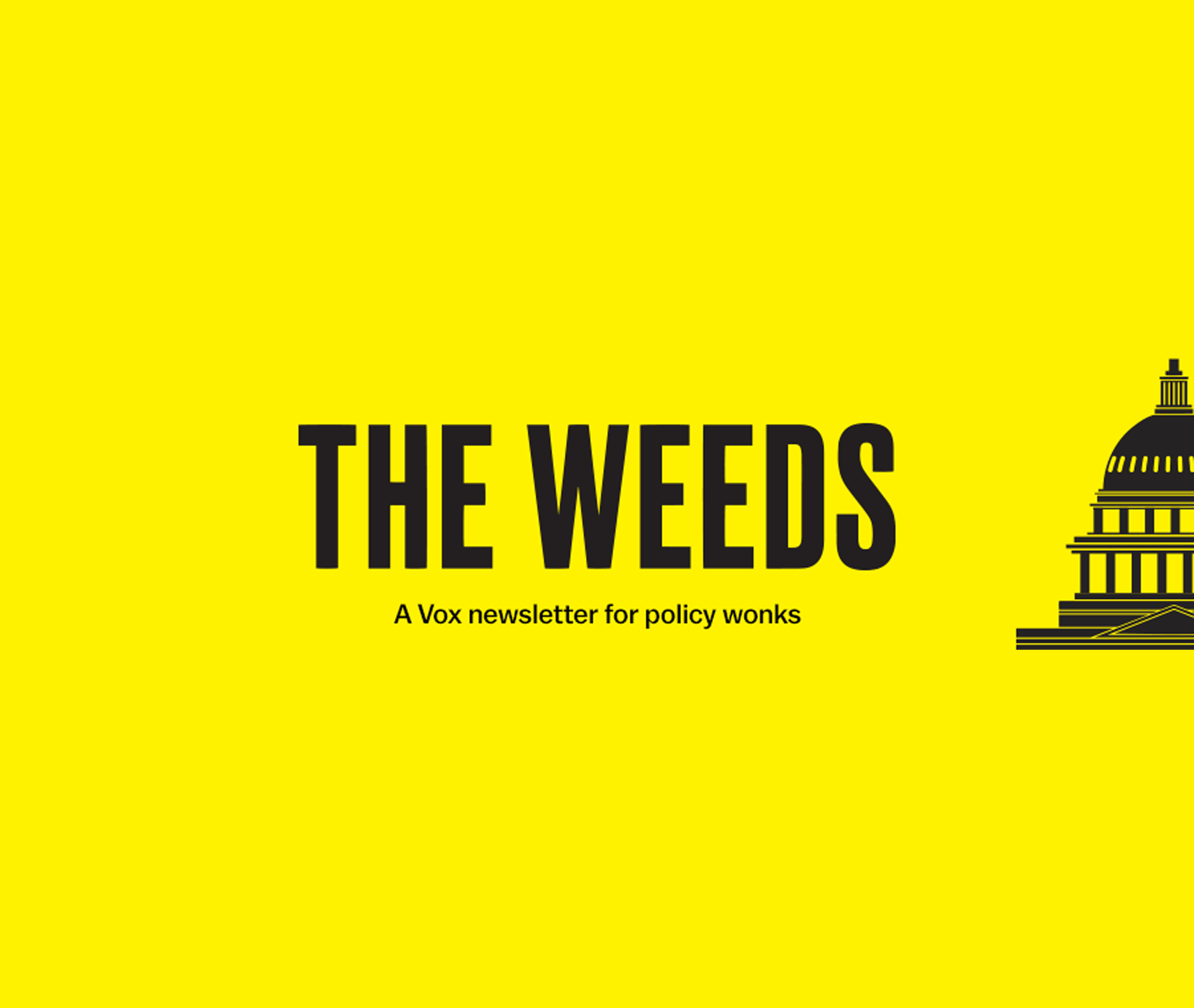 The Weeds newsletter logo
