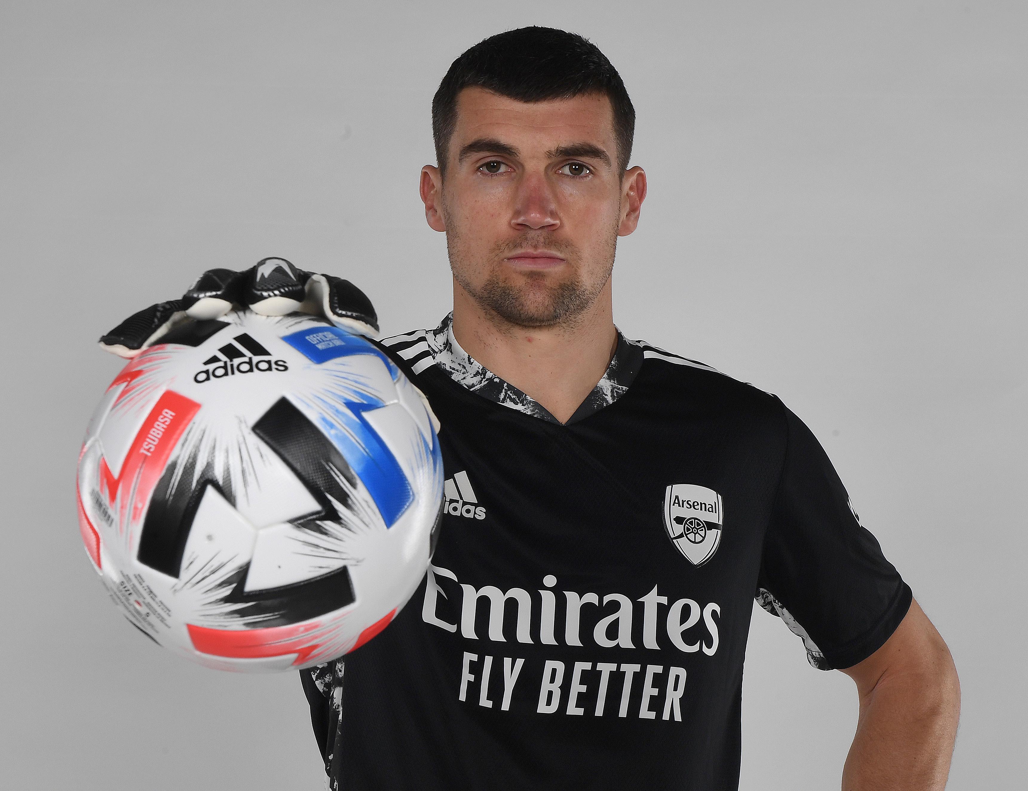 Arsenal Unveil New Signing Mat Ryan