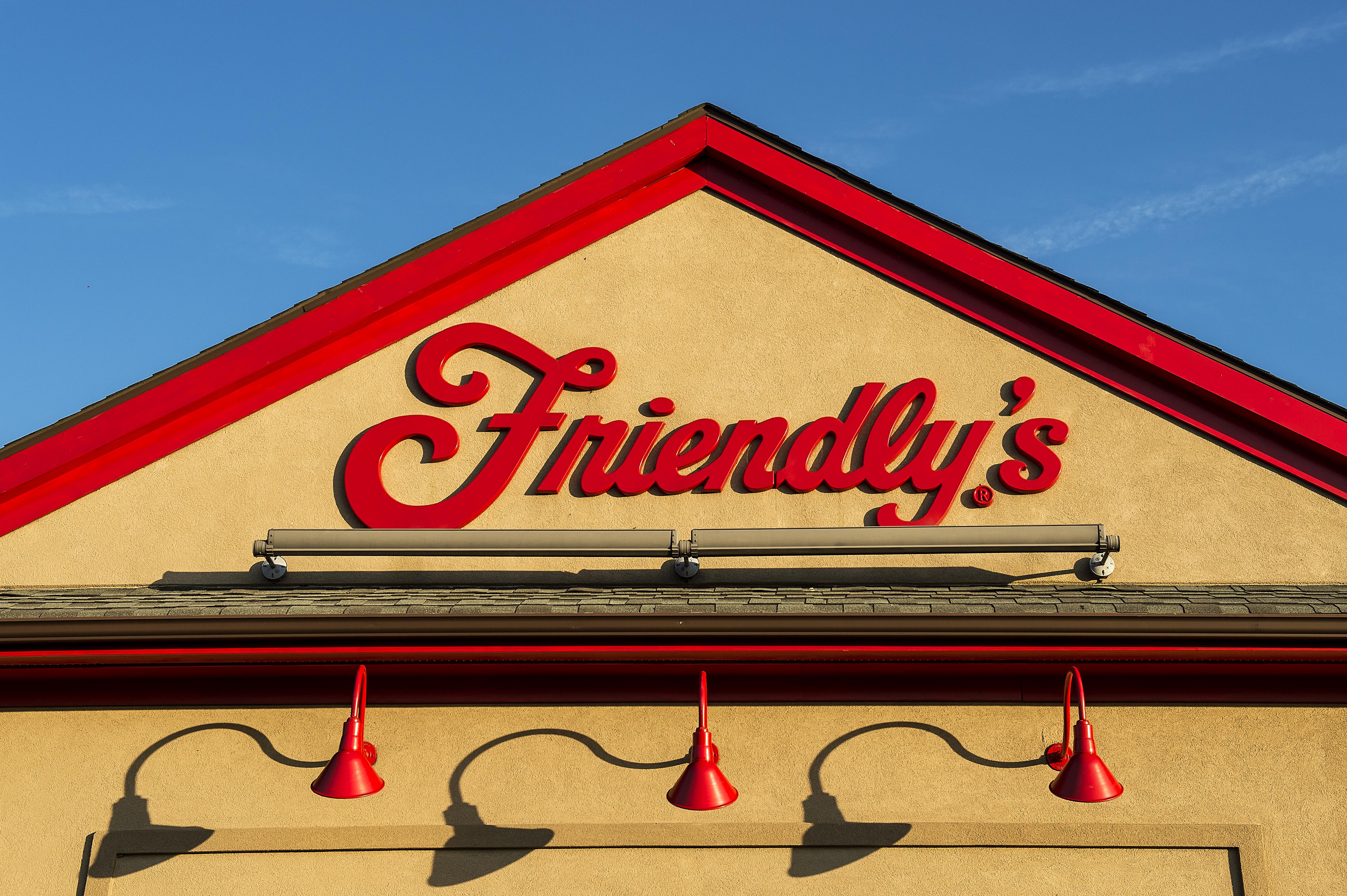 Friendly's restaurant...