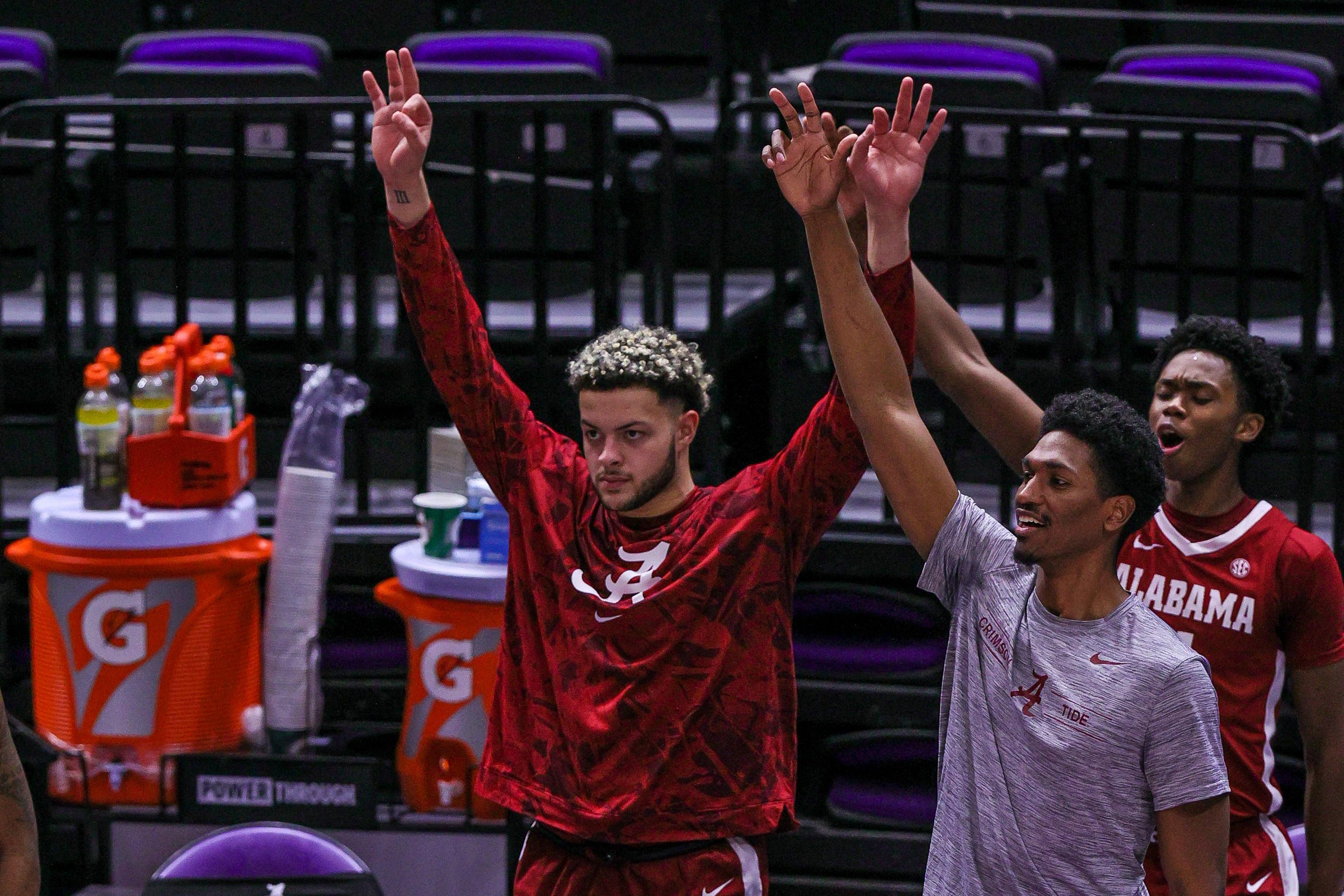 NCAA Basketball: Alabama at Louisiana State